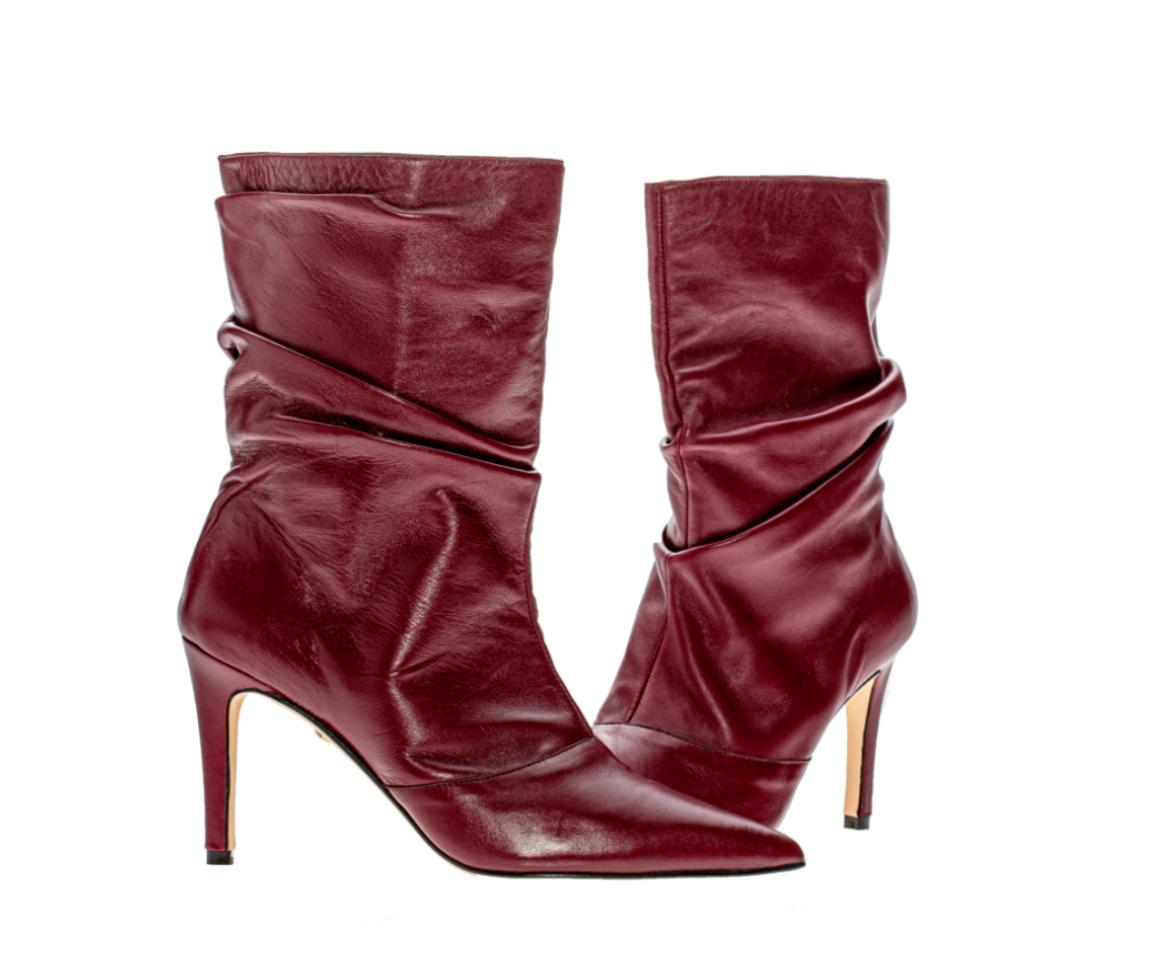 botas slouchy, botas fruncidas, otoño, tendencia