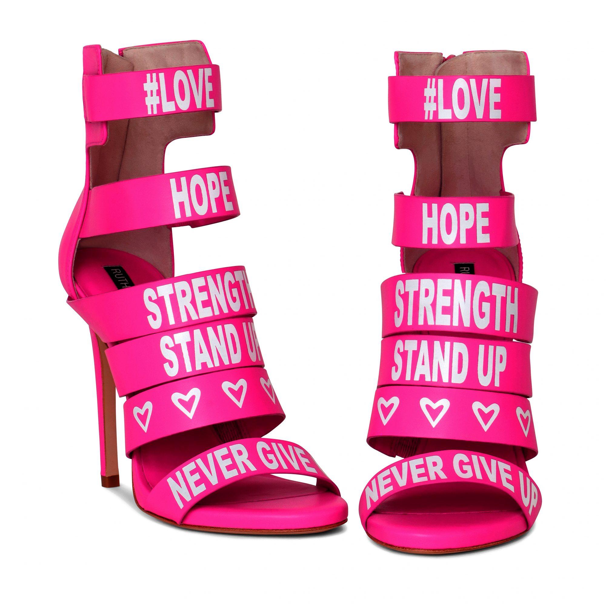 tacones rosados, cancer awareness