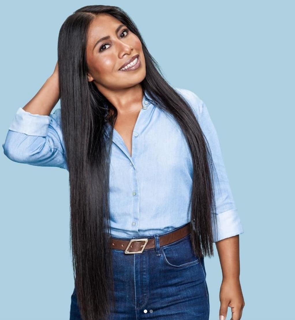 Yalitza Aparicio se corta su larga cabellera para donarla a alguien que está luchando contra el cáncer