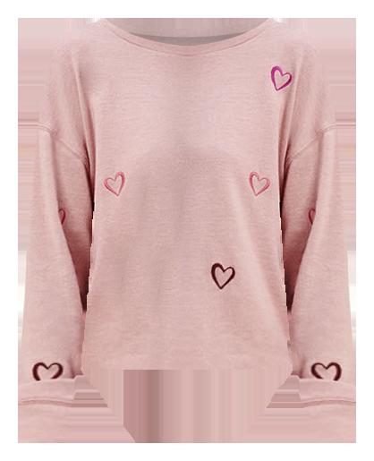 hoodie rosado, cancer awareness