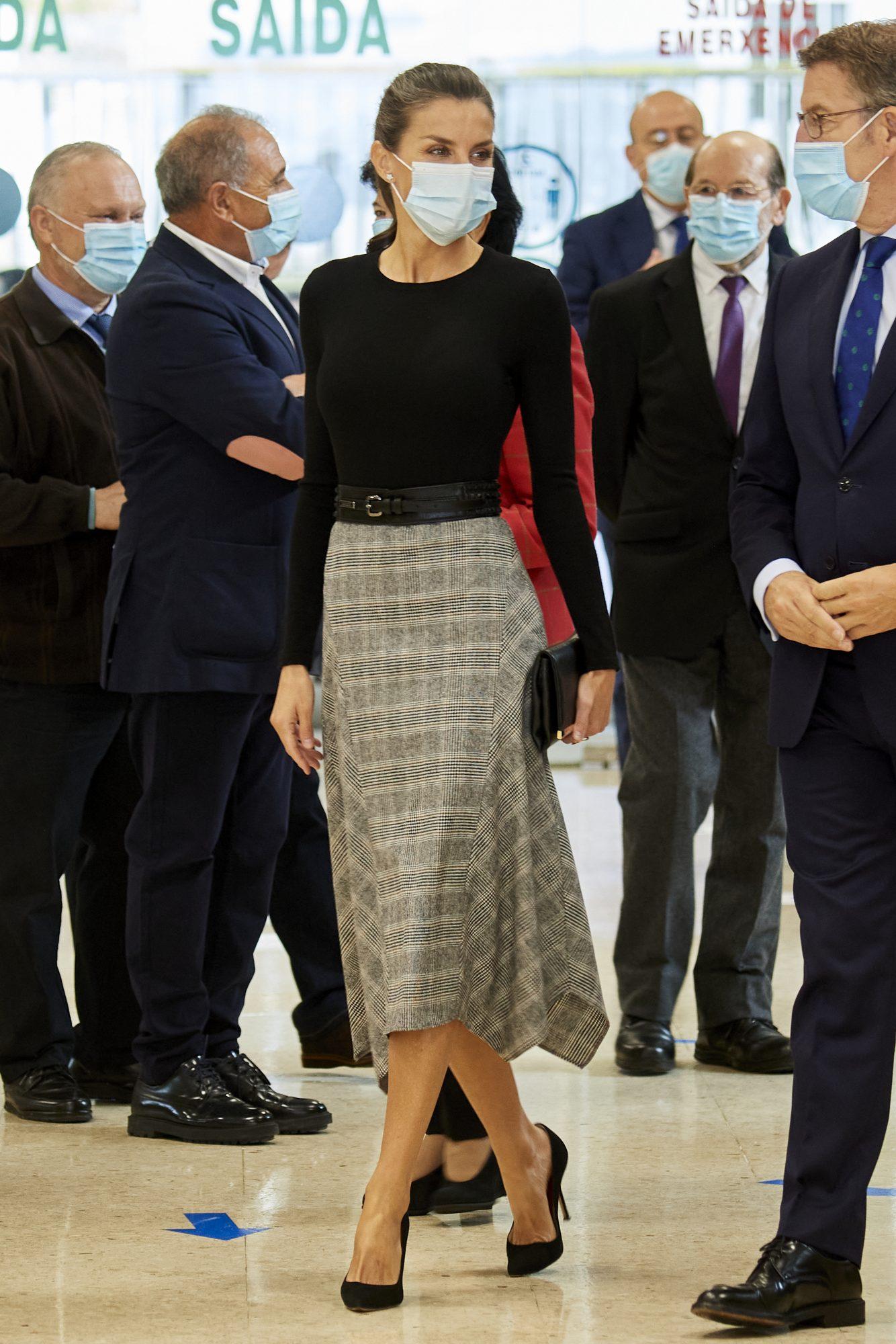 Reina Letizia, look, espana,