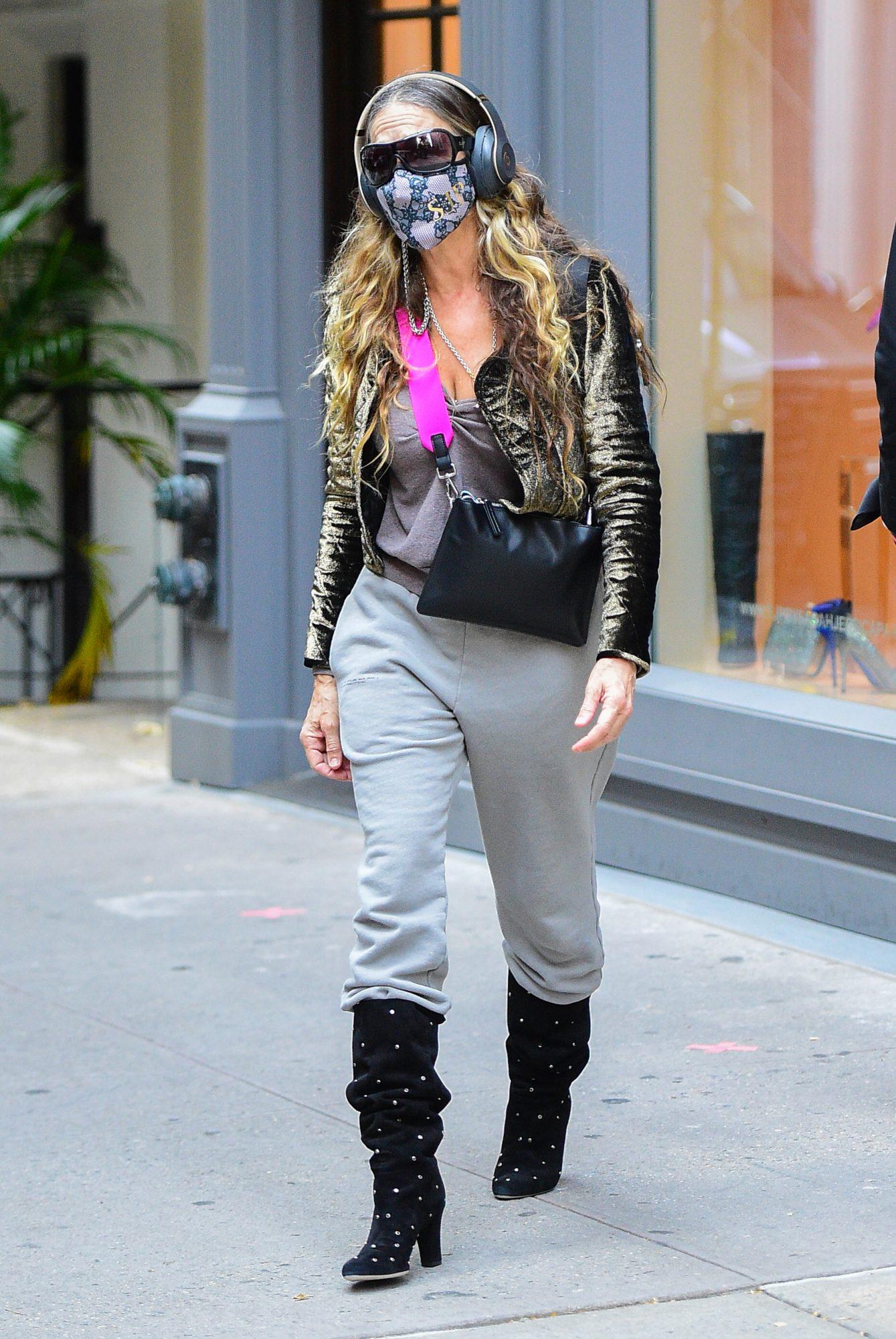 Sarah Jessica Parker, look, new york, otoño
