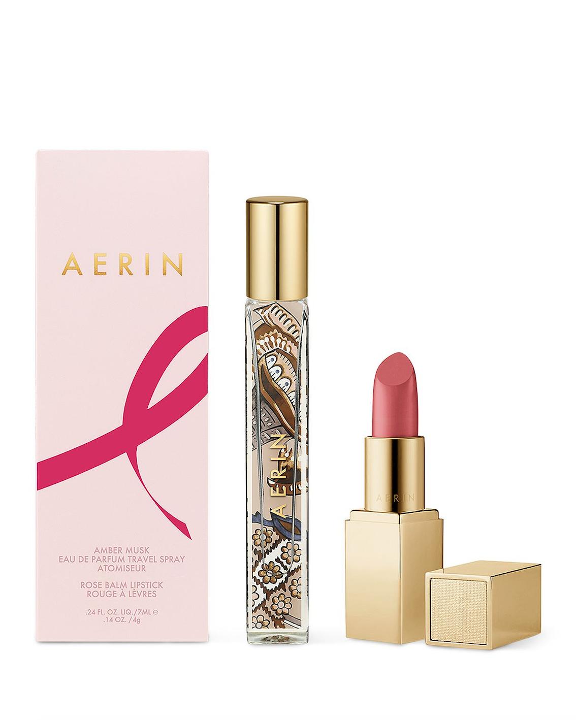 lipstick, travel spray, cancer awareness