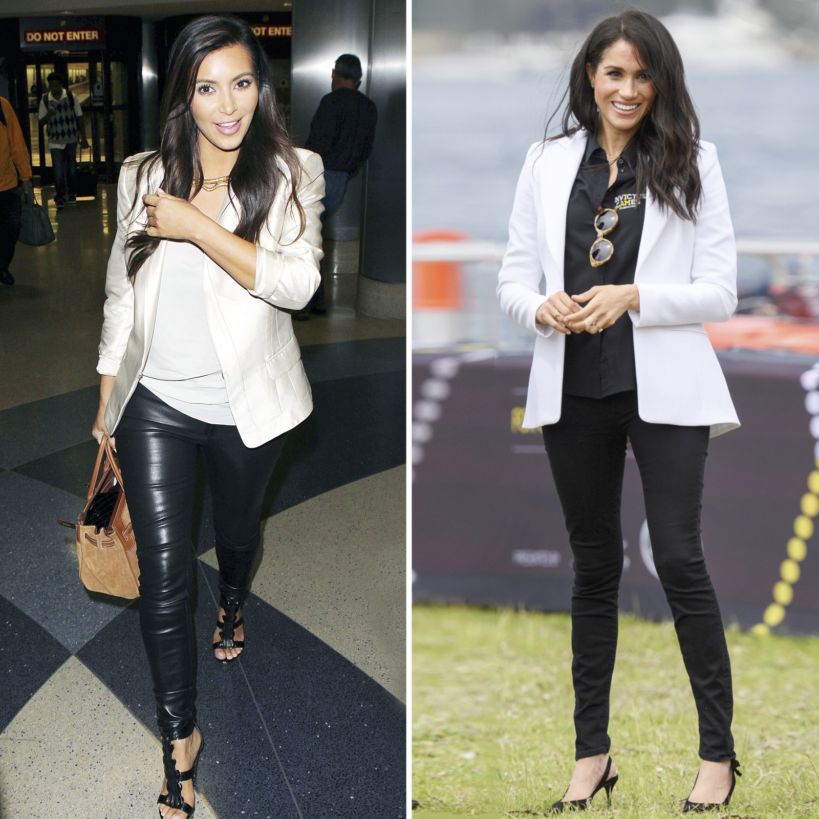 Kim Kardashian West y Meghan Markle