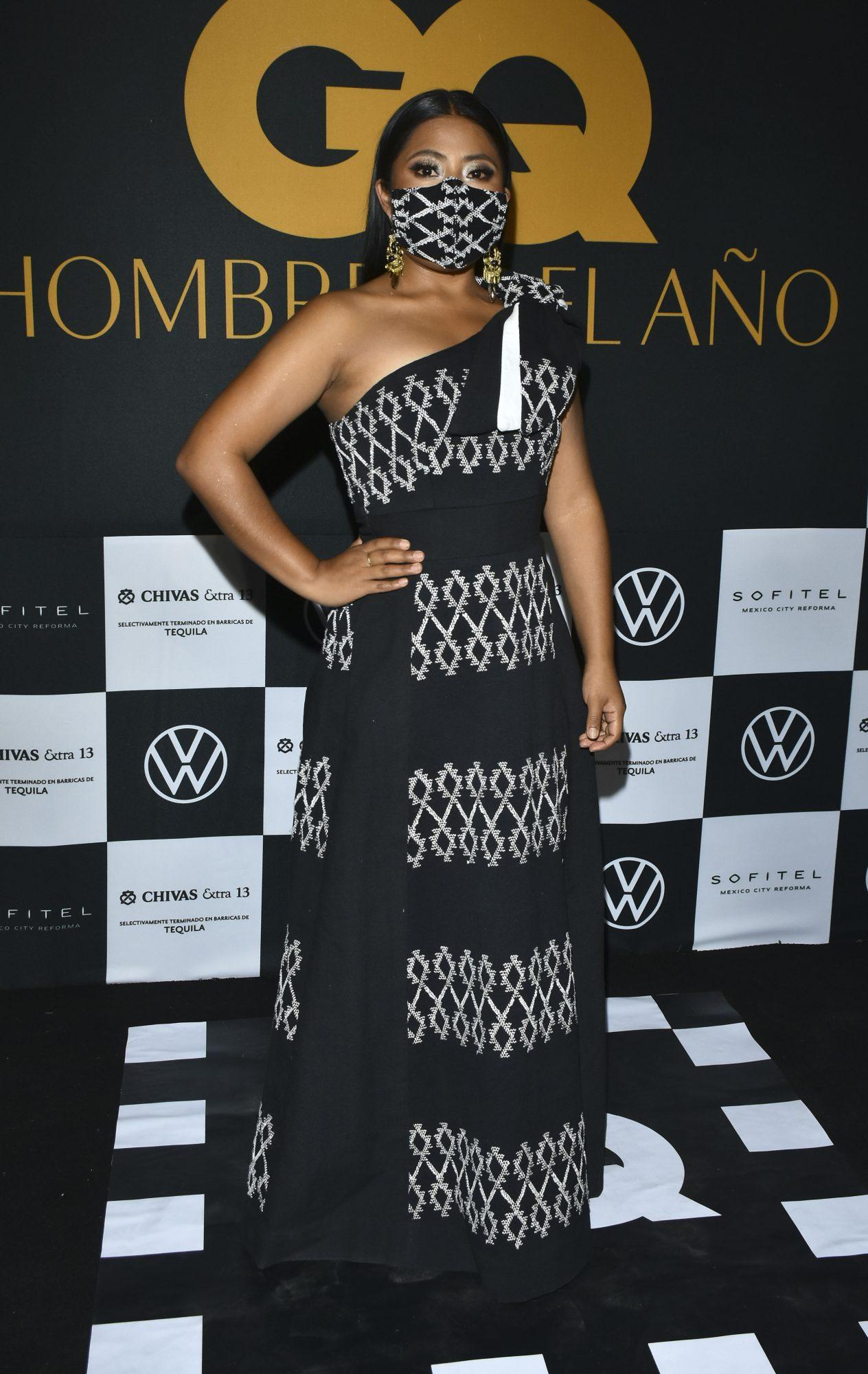 Yalitza Aparicio, vestido negro, fashion
