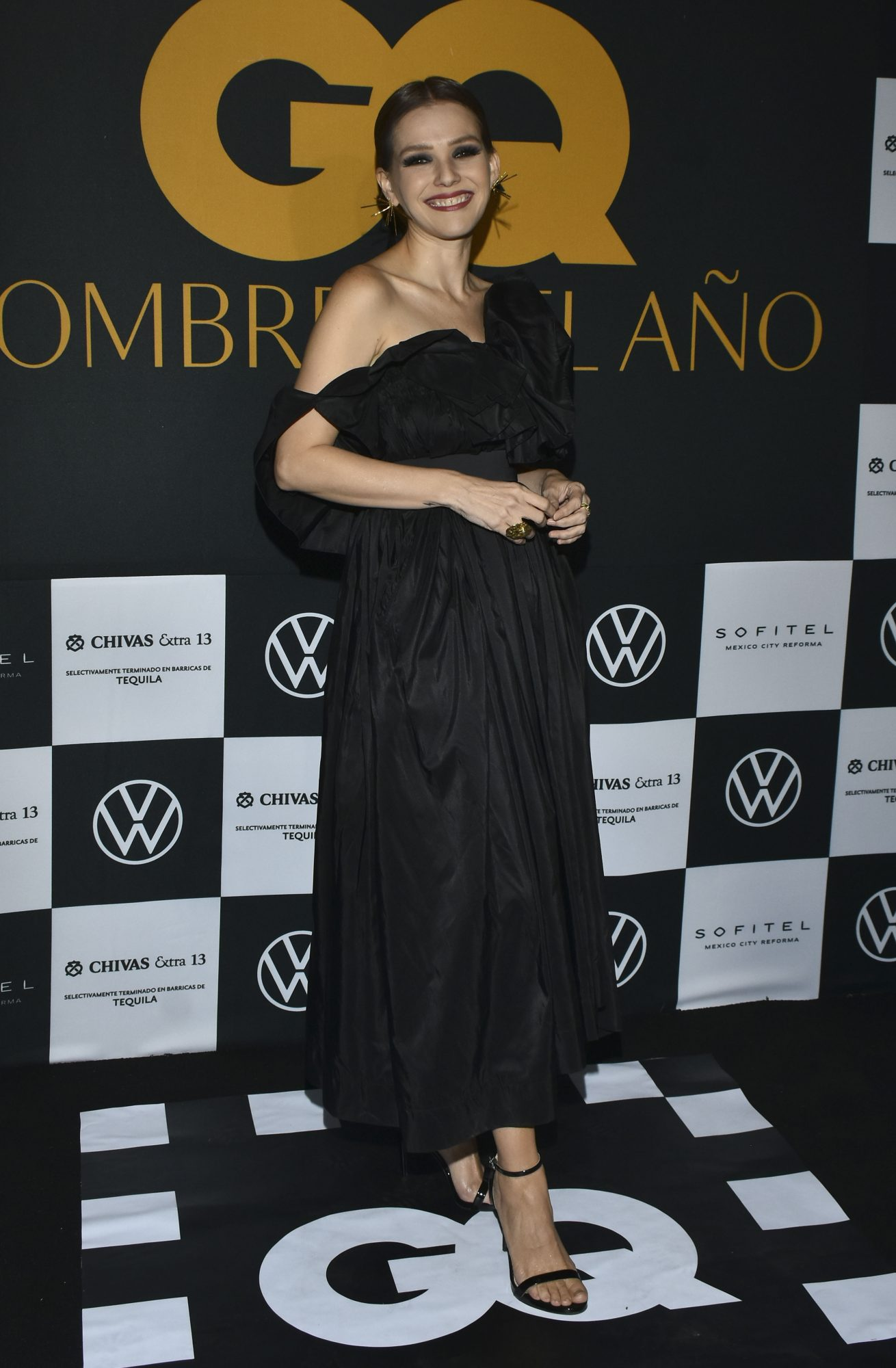 Kika Edgar, vestido negro, fashion