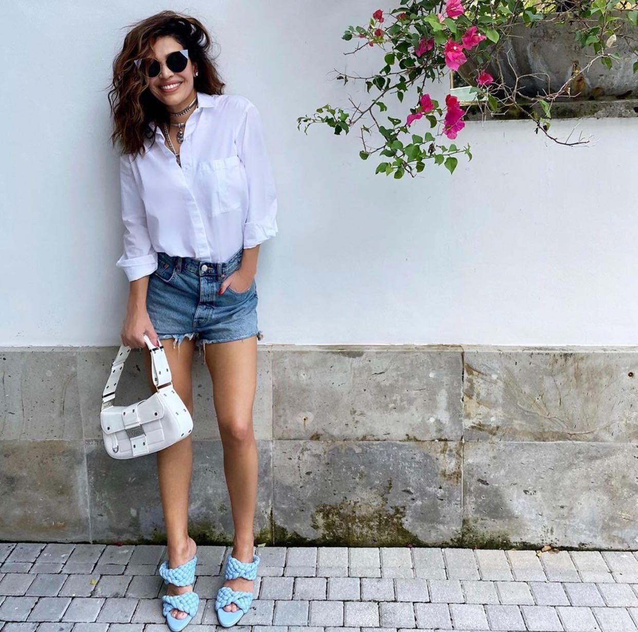 Karla Martínez, fashion, look del día
