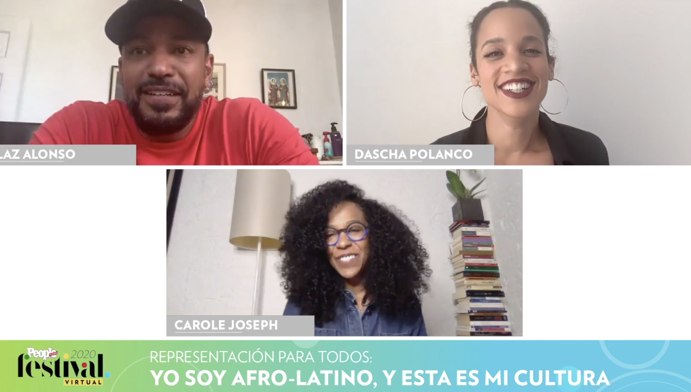 Laz Alonso, Dascha Polanco y Carole Jospeh