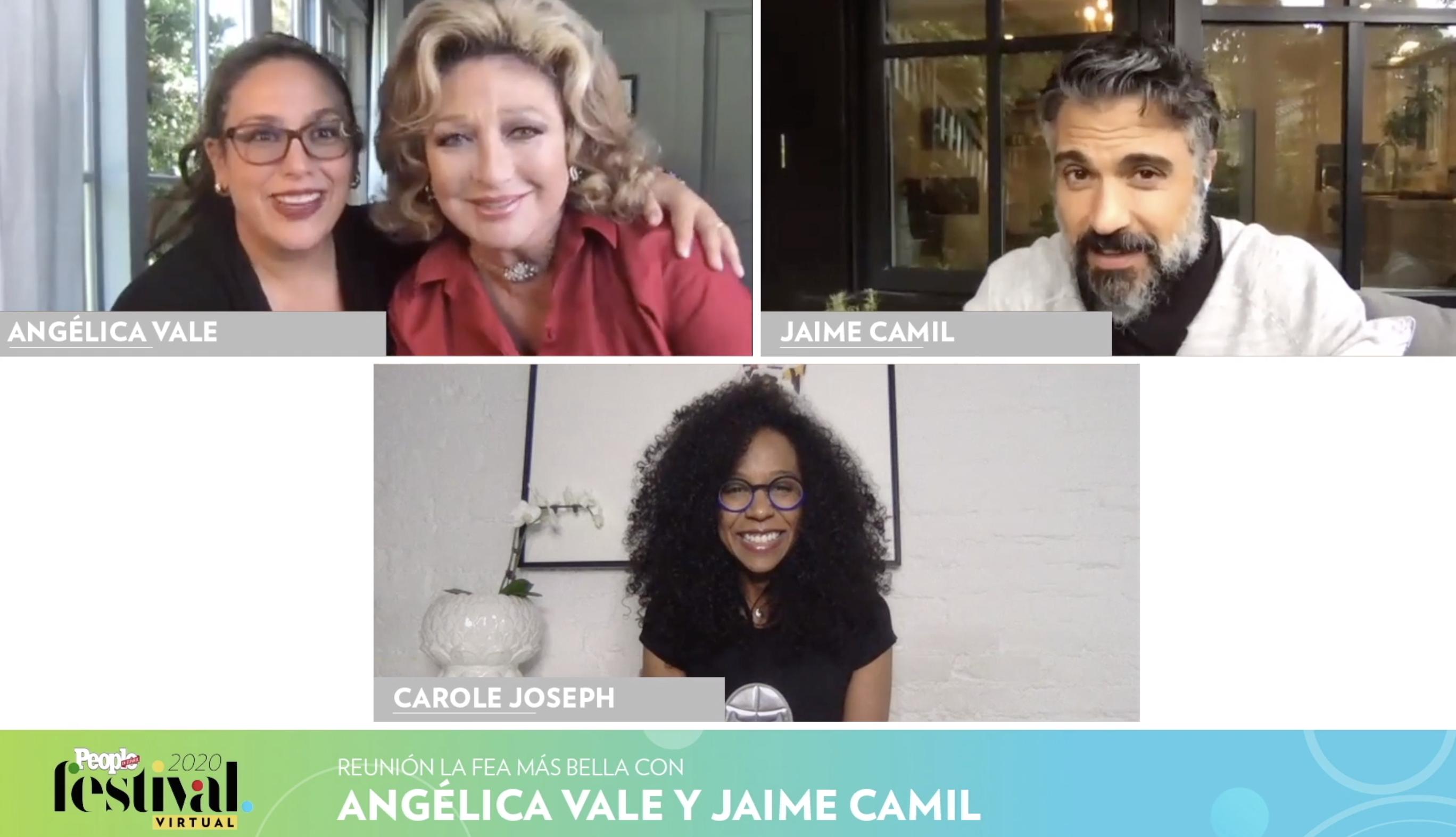 Angélica Vale, Angélica María Jaime Camil y Carole Joseph
