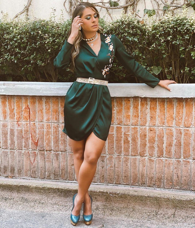 Galilea Montijo, vestido femenino, fashion