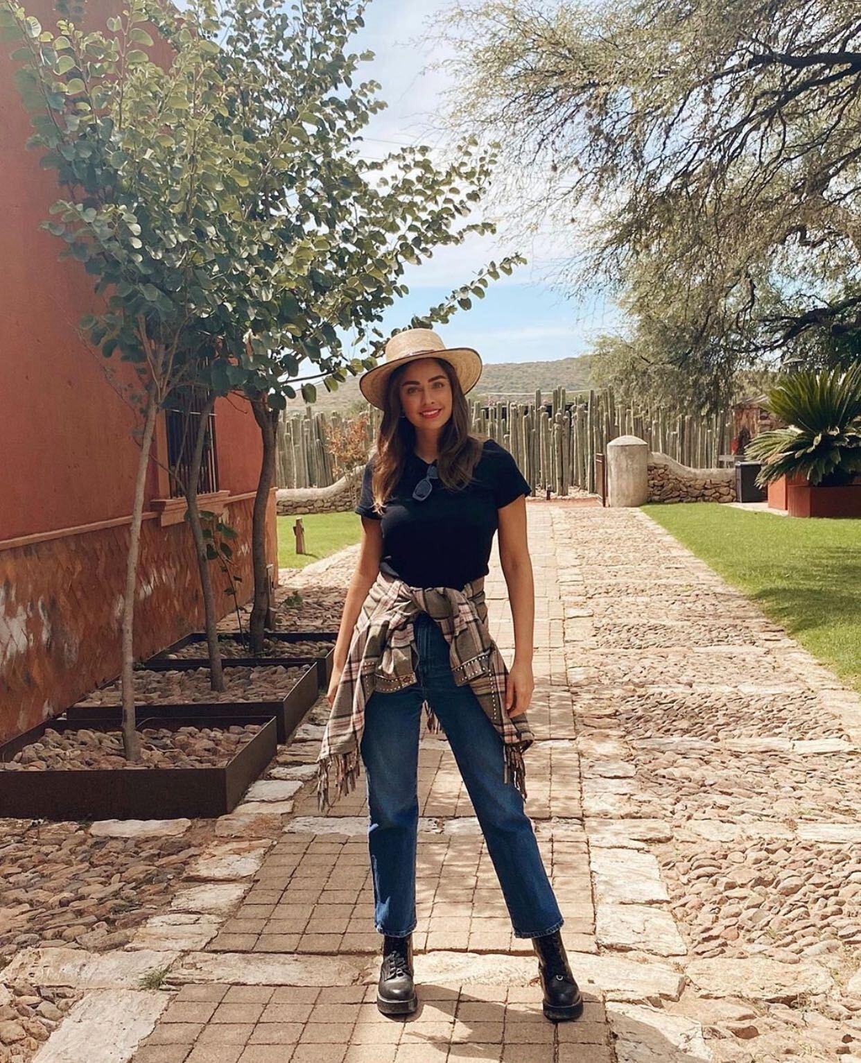 Claudia Martín, fashion, el look del día
