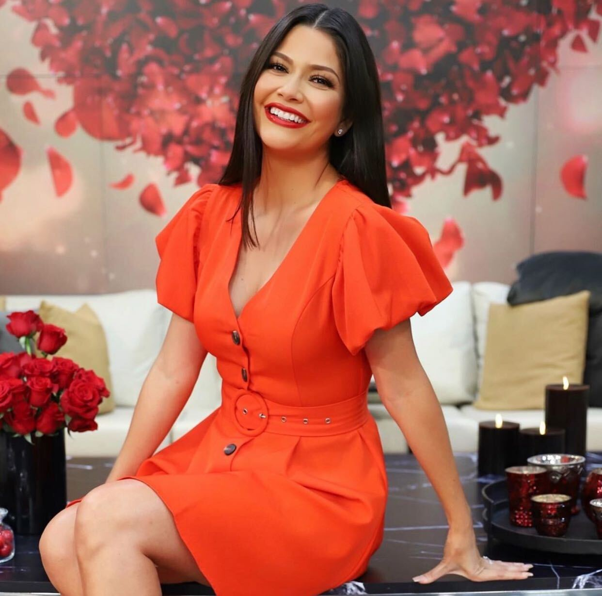 Ana Patricia Gámez, el look del día