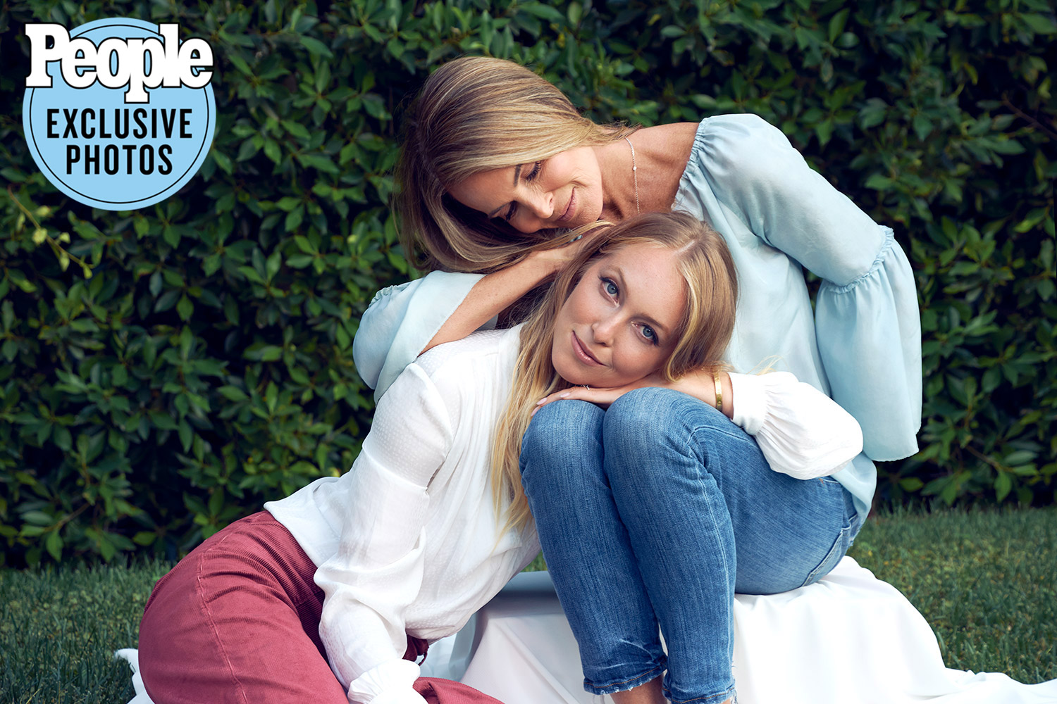 India y Catherine Oxenberg