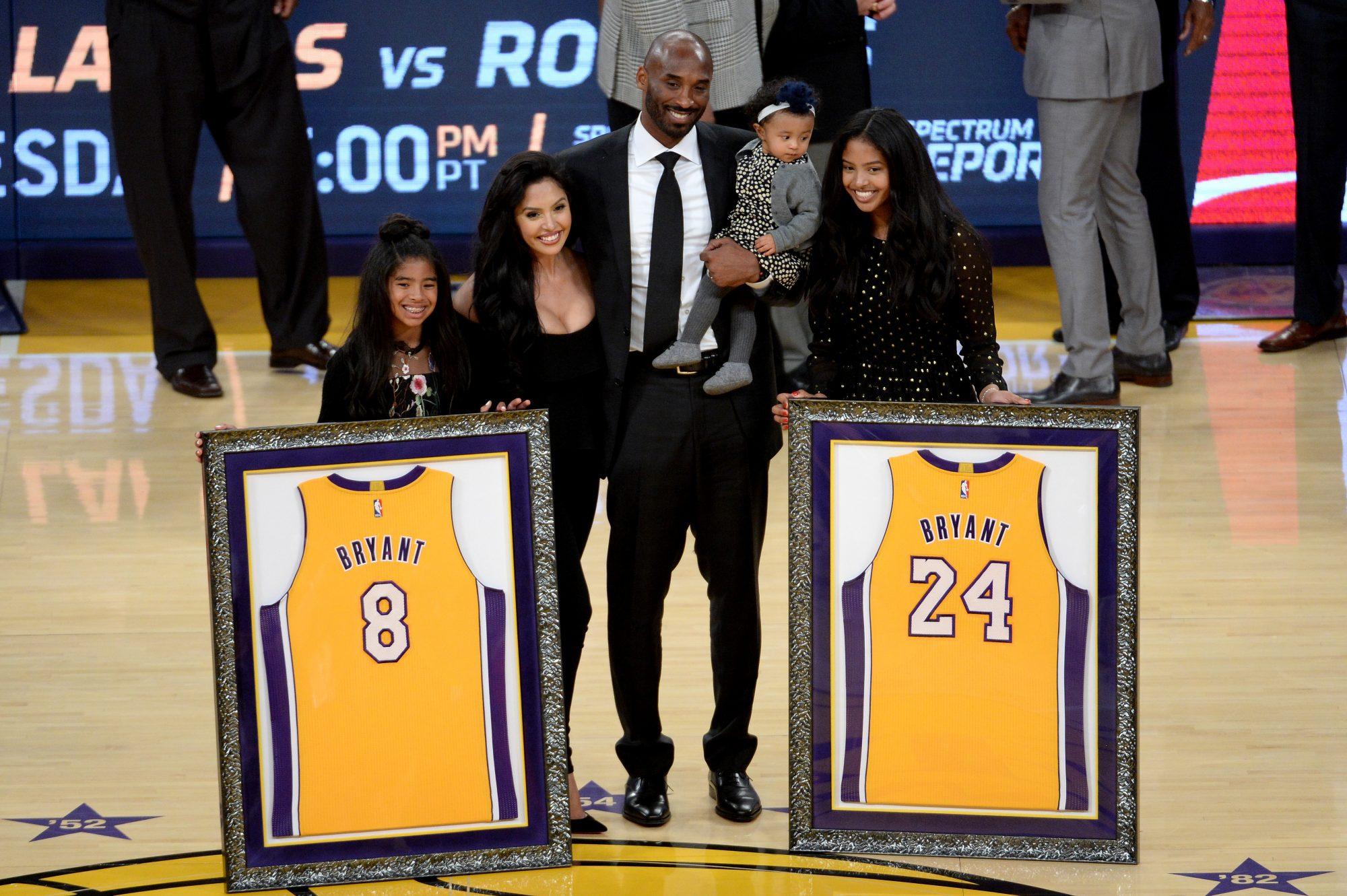 Vanessa Bryant, Kobe Bryant, hijas