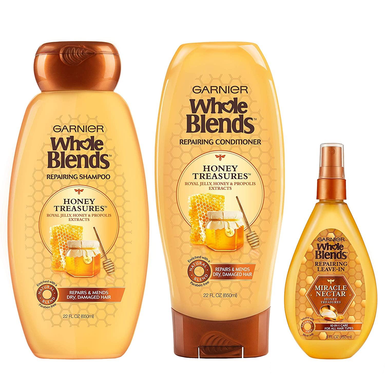 garnier, shampoo, acondicionador