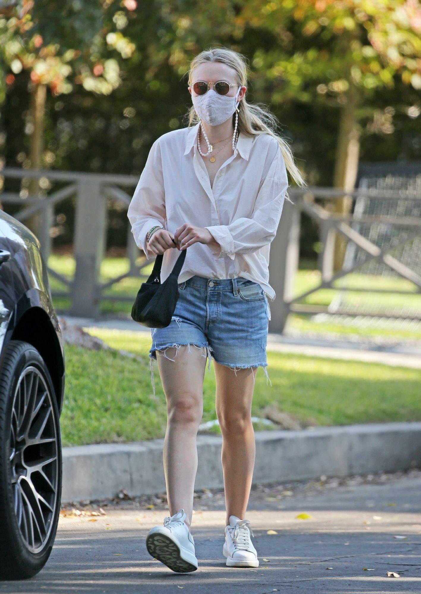 Dakota Fanning, look, streetstyle
