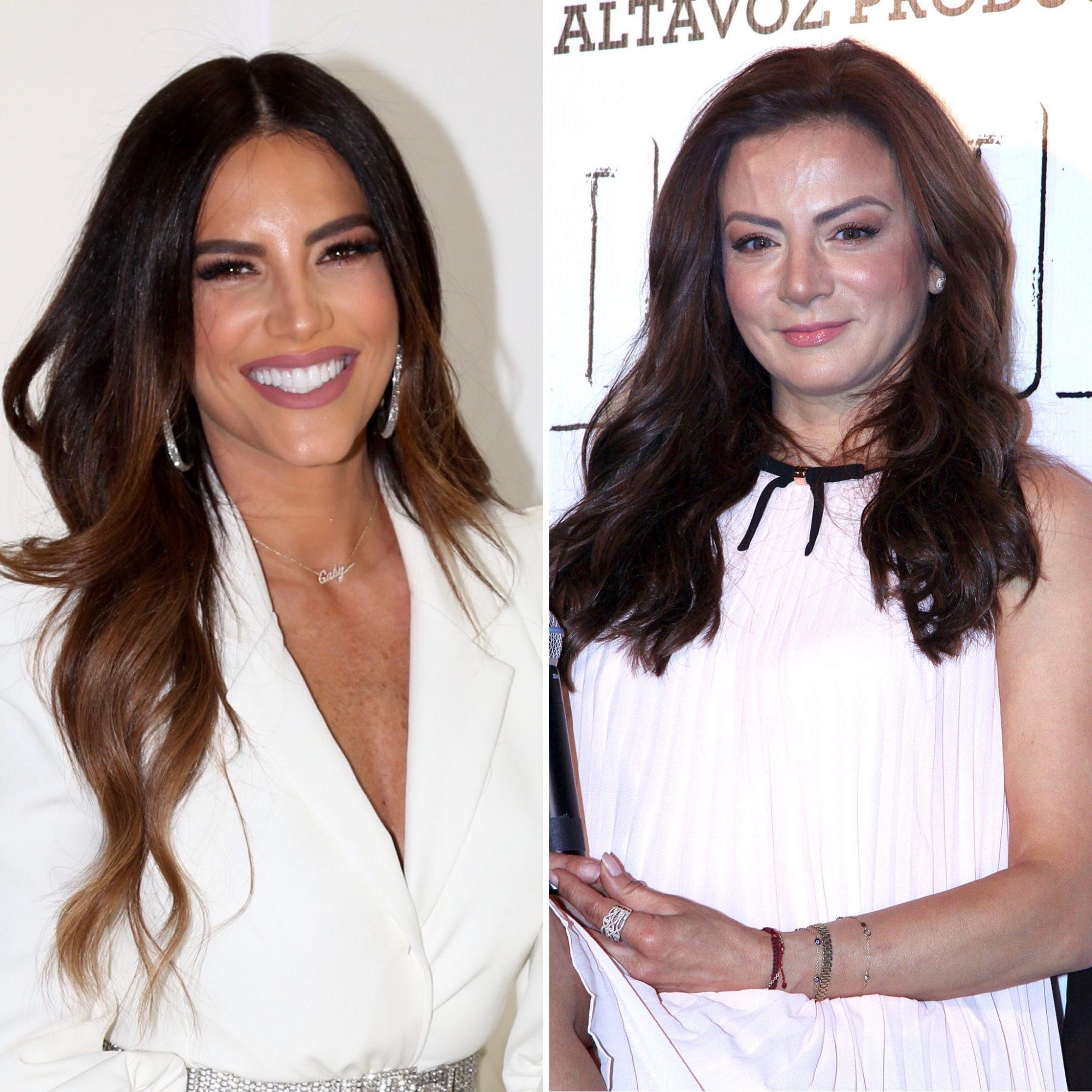 Gaby Espino y Silvia Navarro