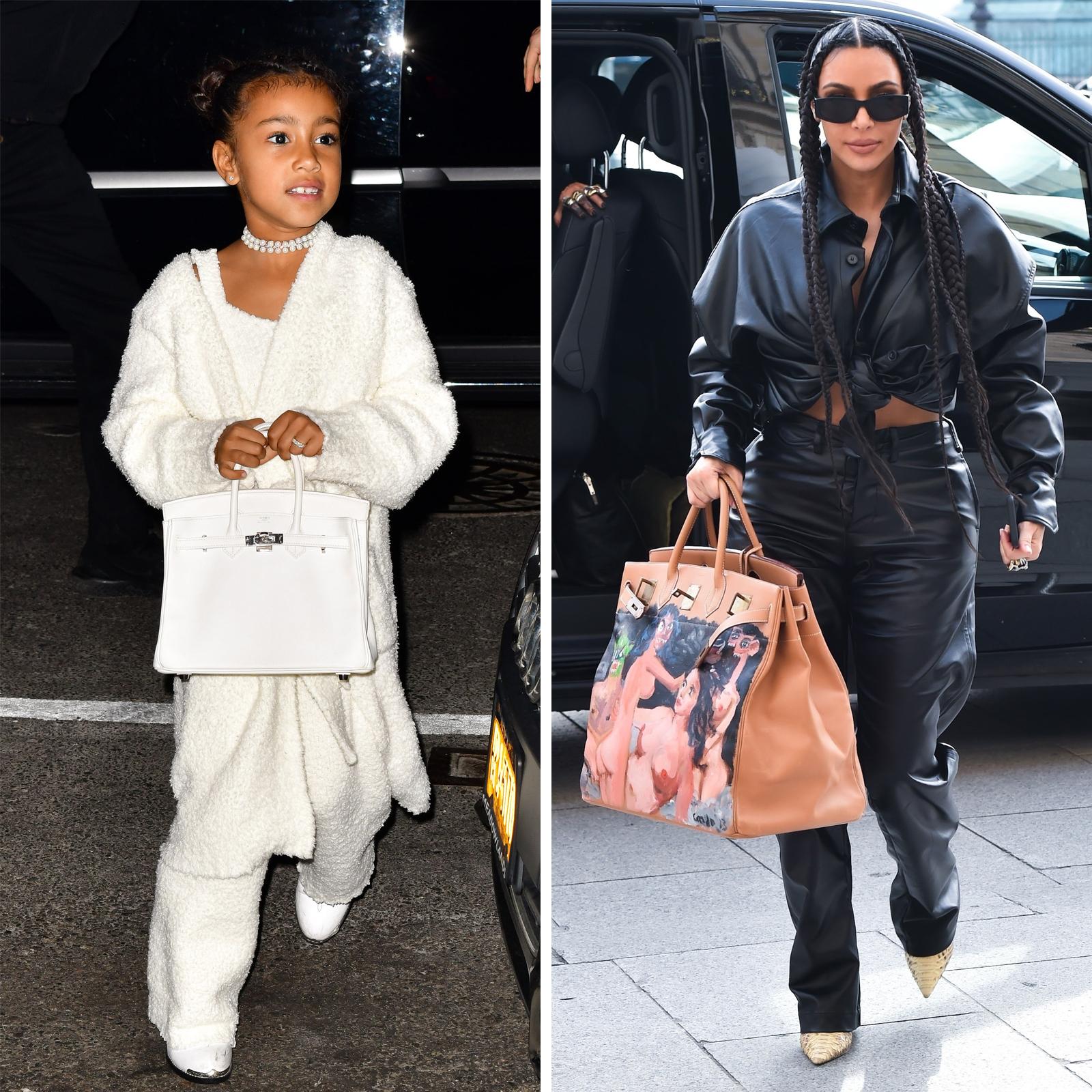 North West y Kim Kardashian West