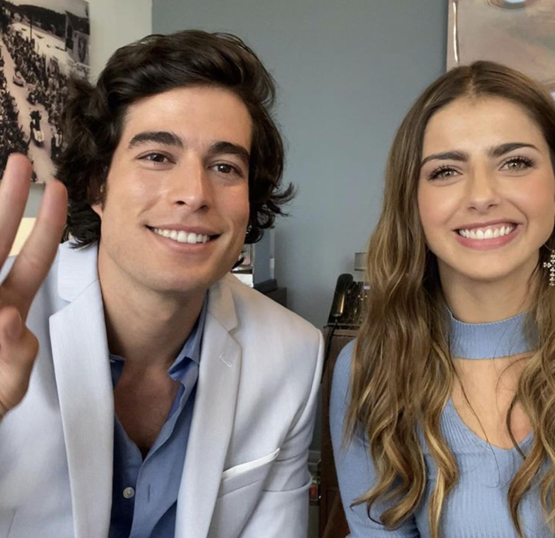 Danilo Carrera y Michelle Renaud, estrellas Televisa