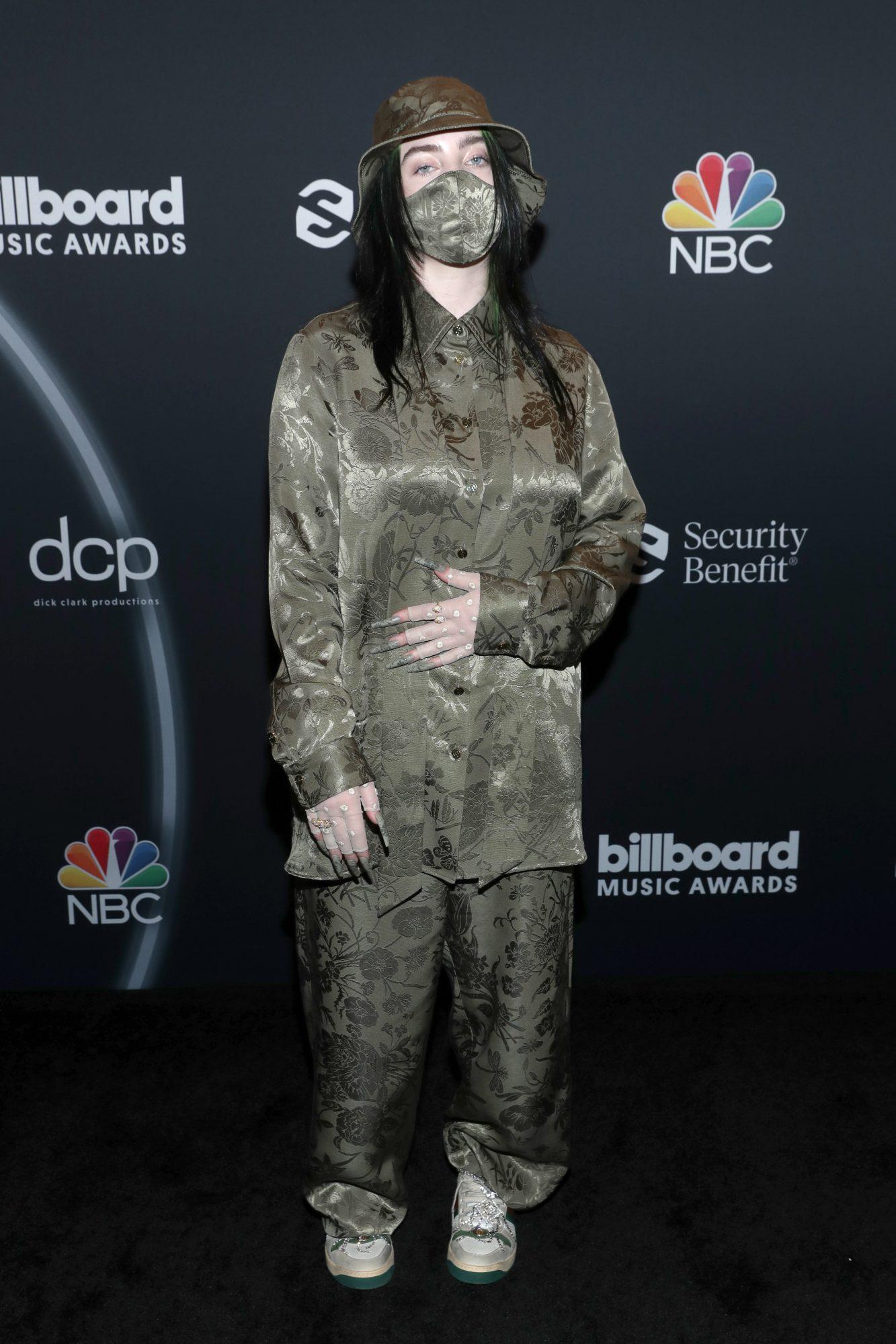 Billie Eilish, fashion, billboards 2020