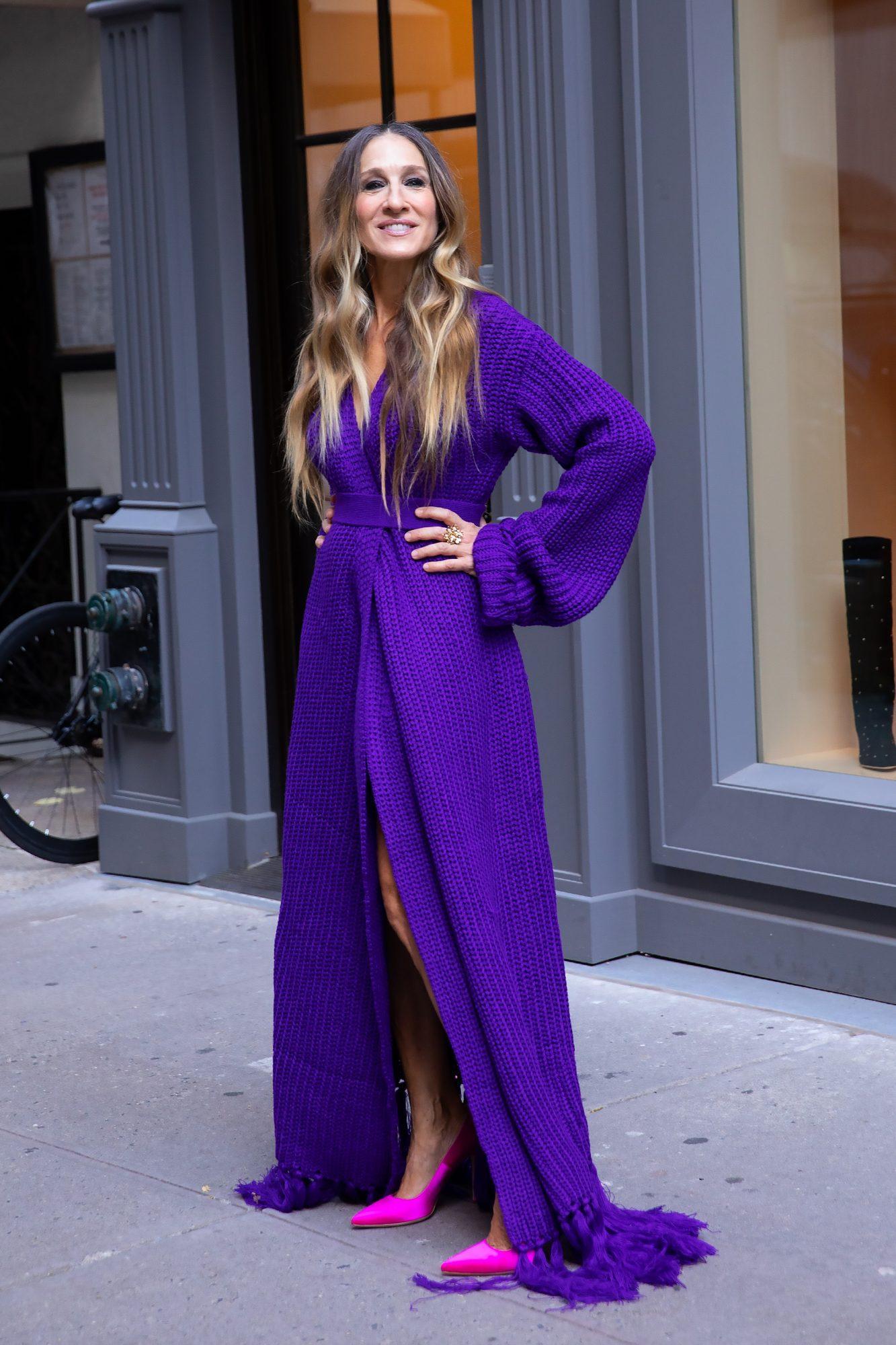 Sarah Jessica Parker, look, new york, tienda, zapatos