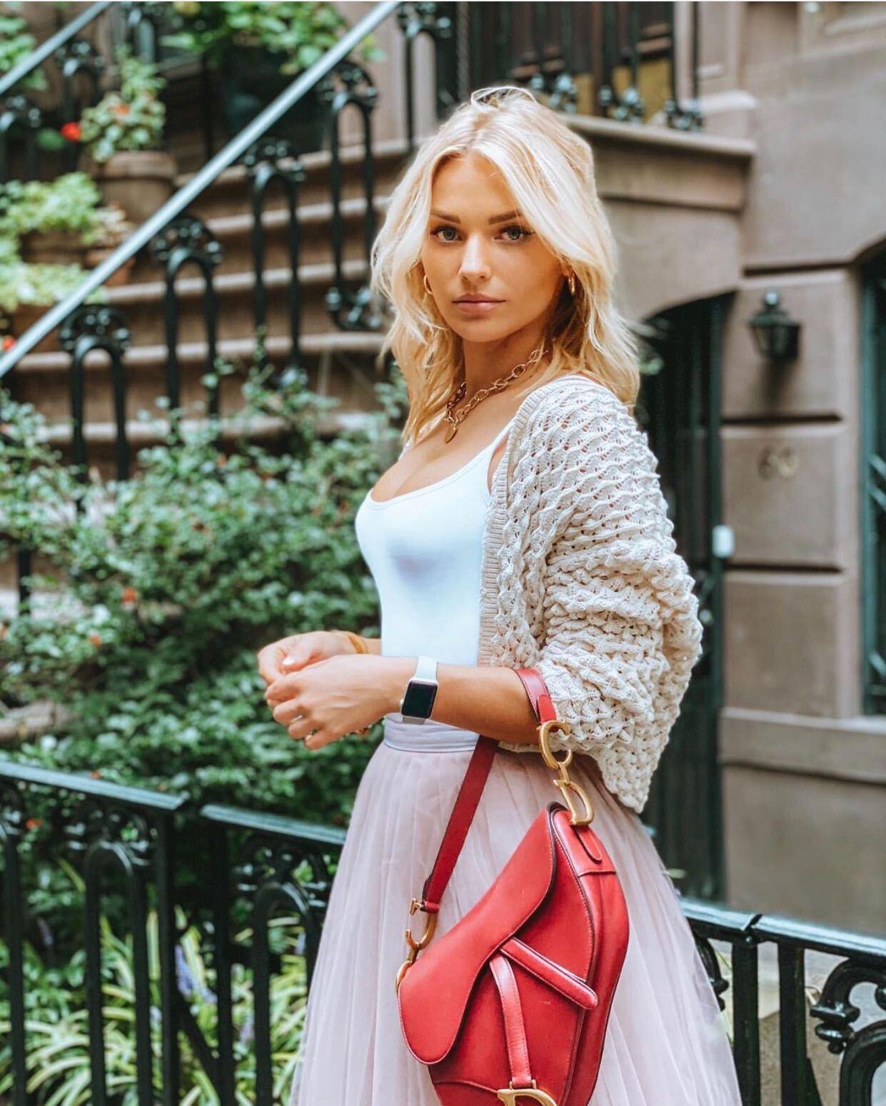 Irina Baeva, New York