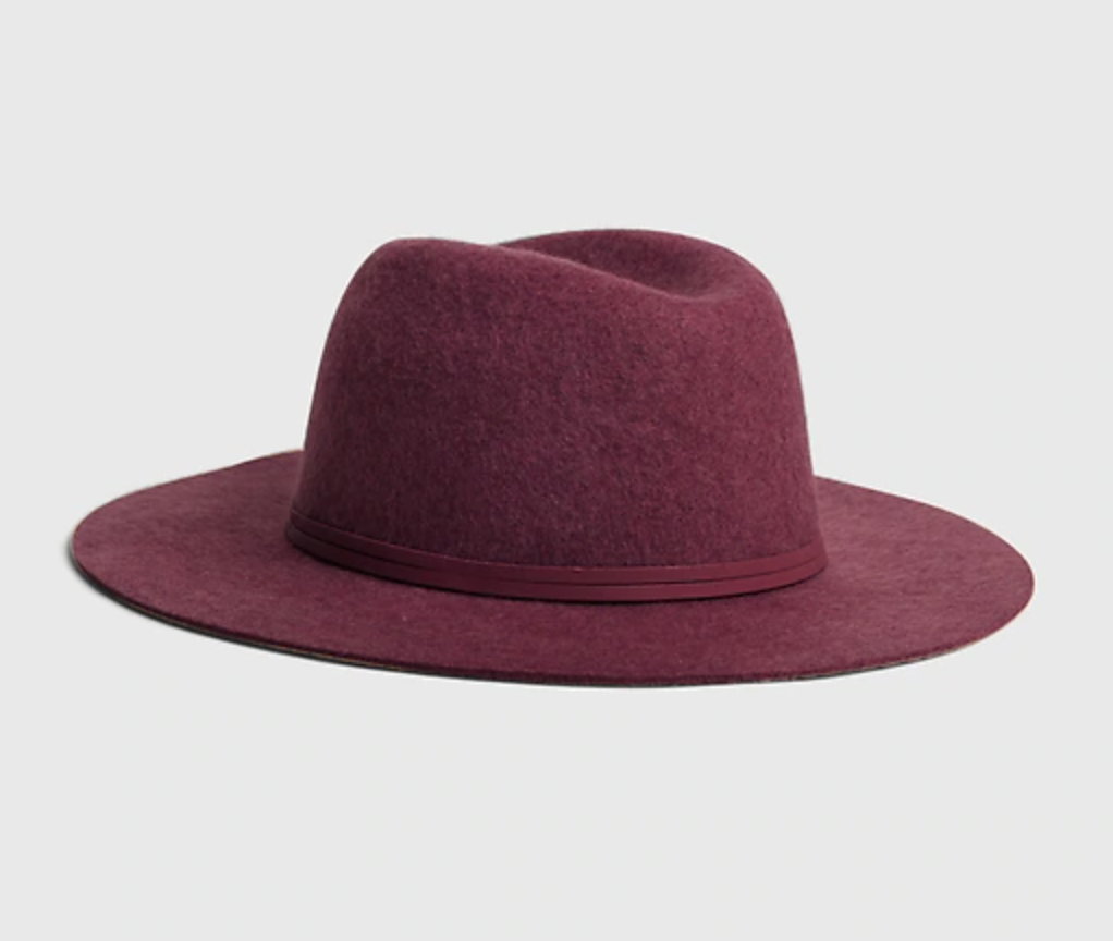 sombreros para otoño, fedora, sombrero de lana