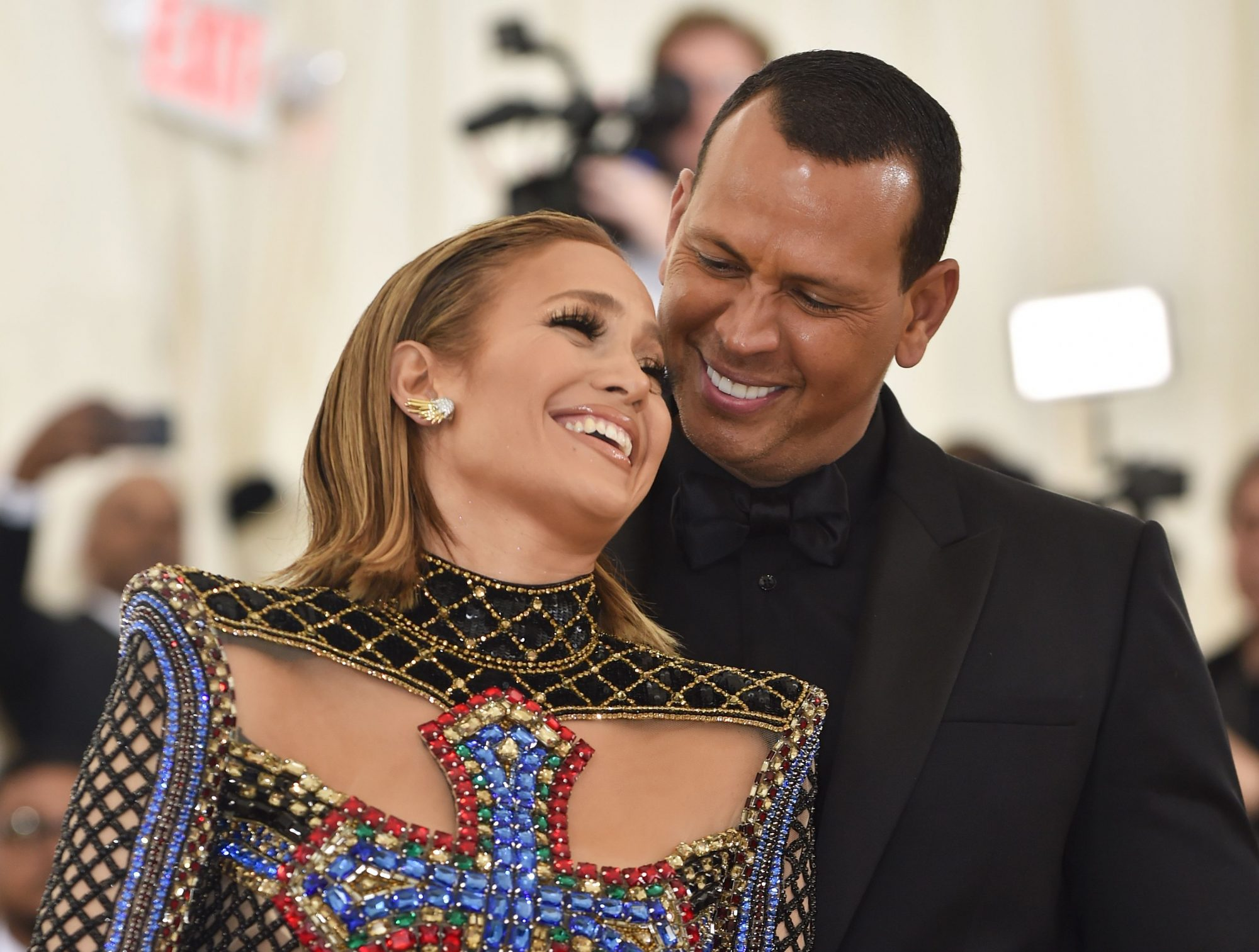 Alex Rodriguez and His Daughter Take on Jennifer Lopez's Latest TikTok Challenge