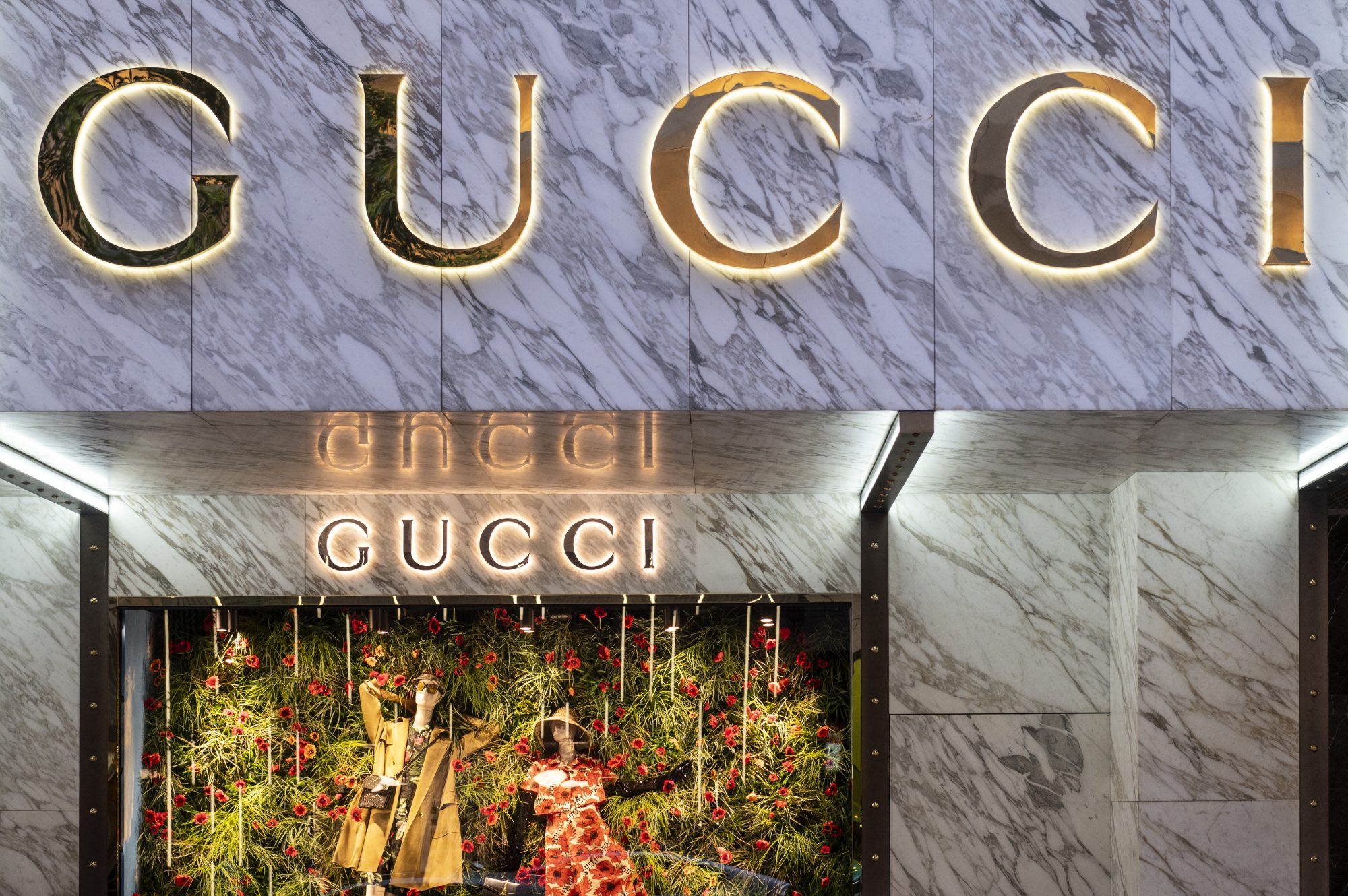 gucci, gucci store