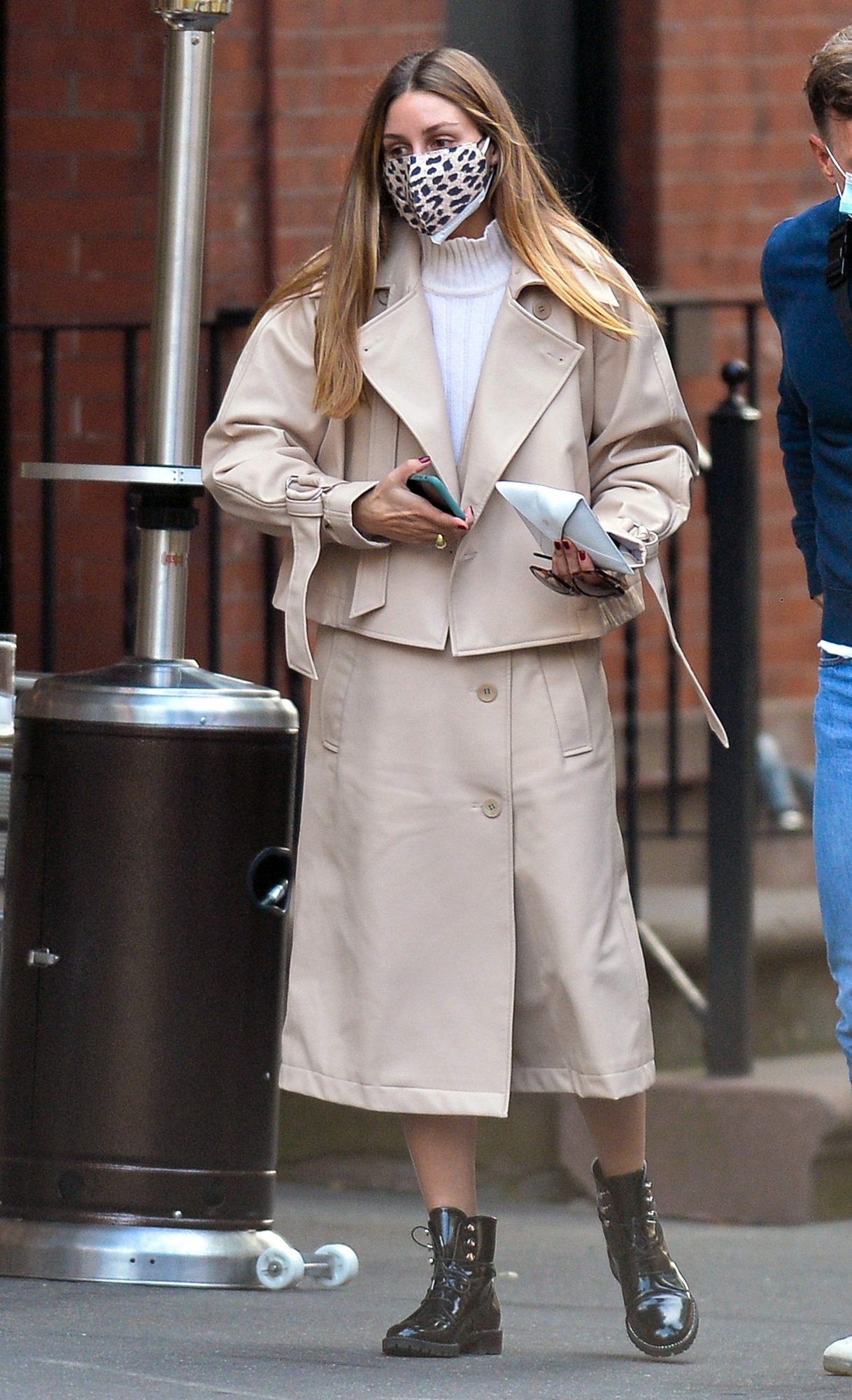 Olivia Palermo, look, otoño, streetstyle, new york