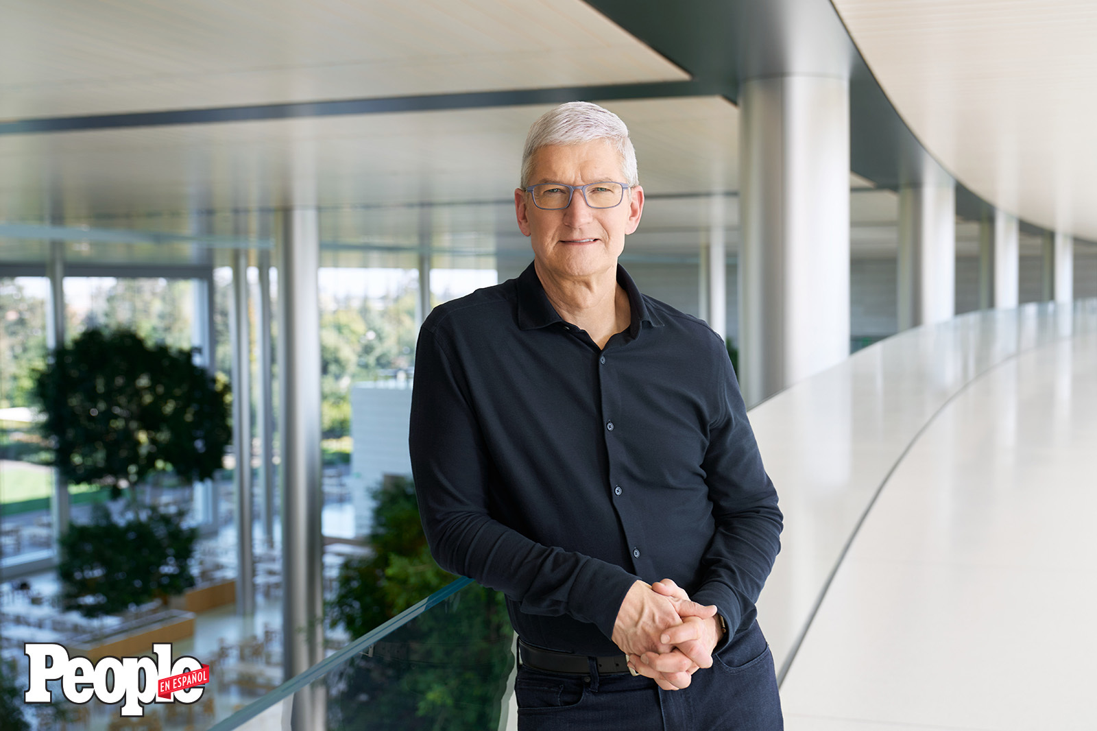 Apple CEO Tim Cook at Apple Park (DO NOT REUSE)