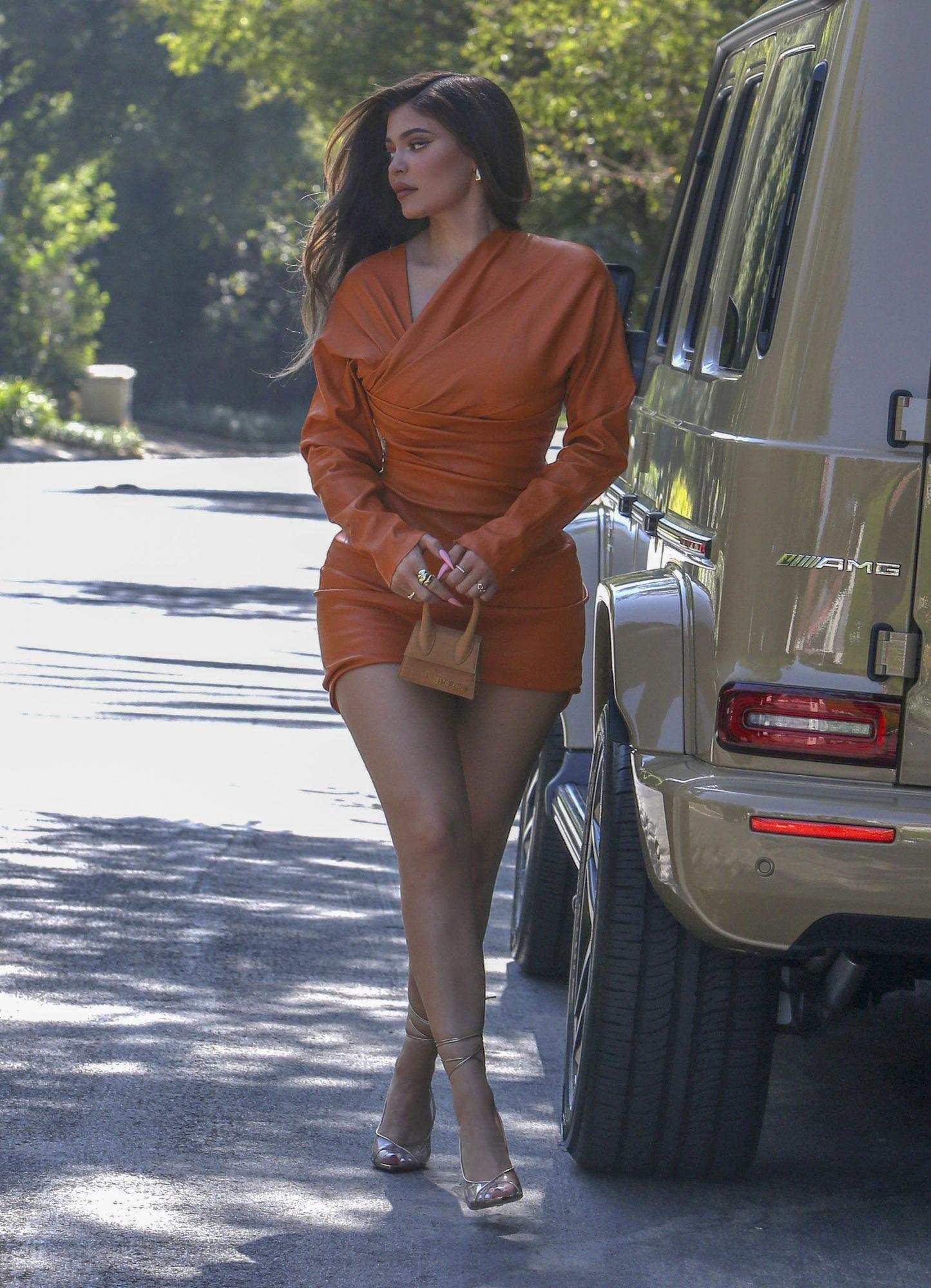 Kylie Jenner, look, sexy, otono