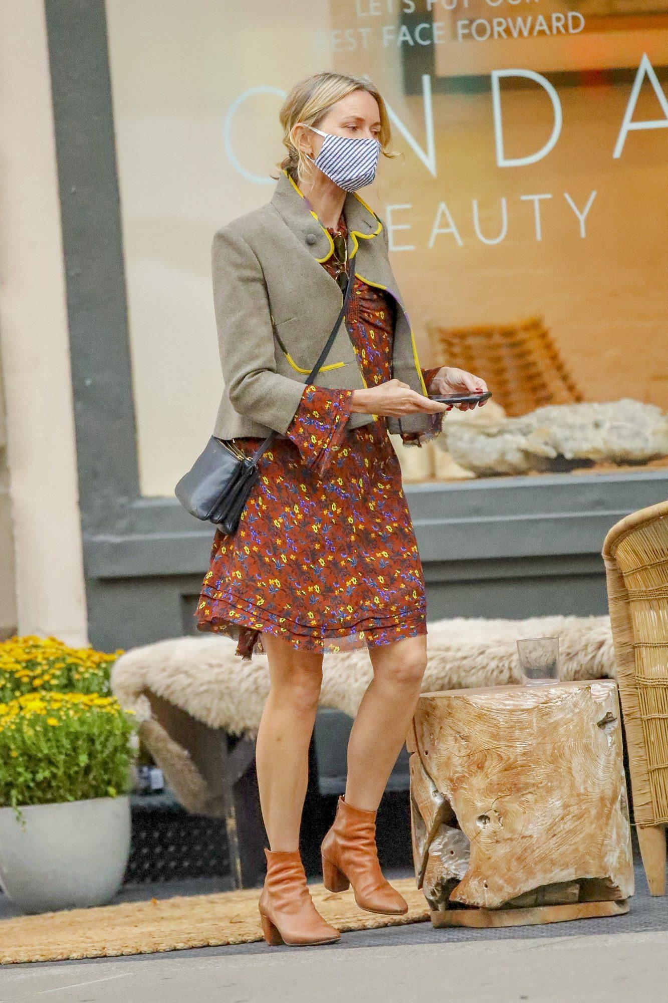 Naomi Watts, look, otono, los angeles