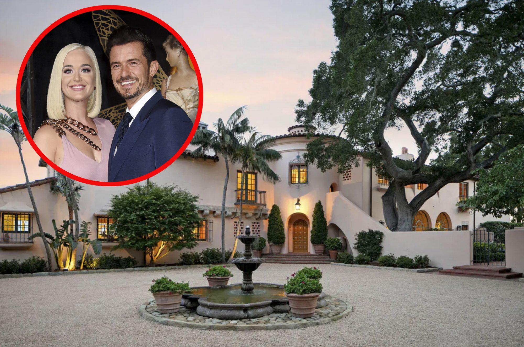 La casa de Katy y Orlando