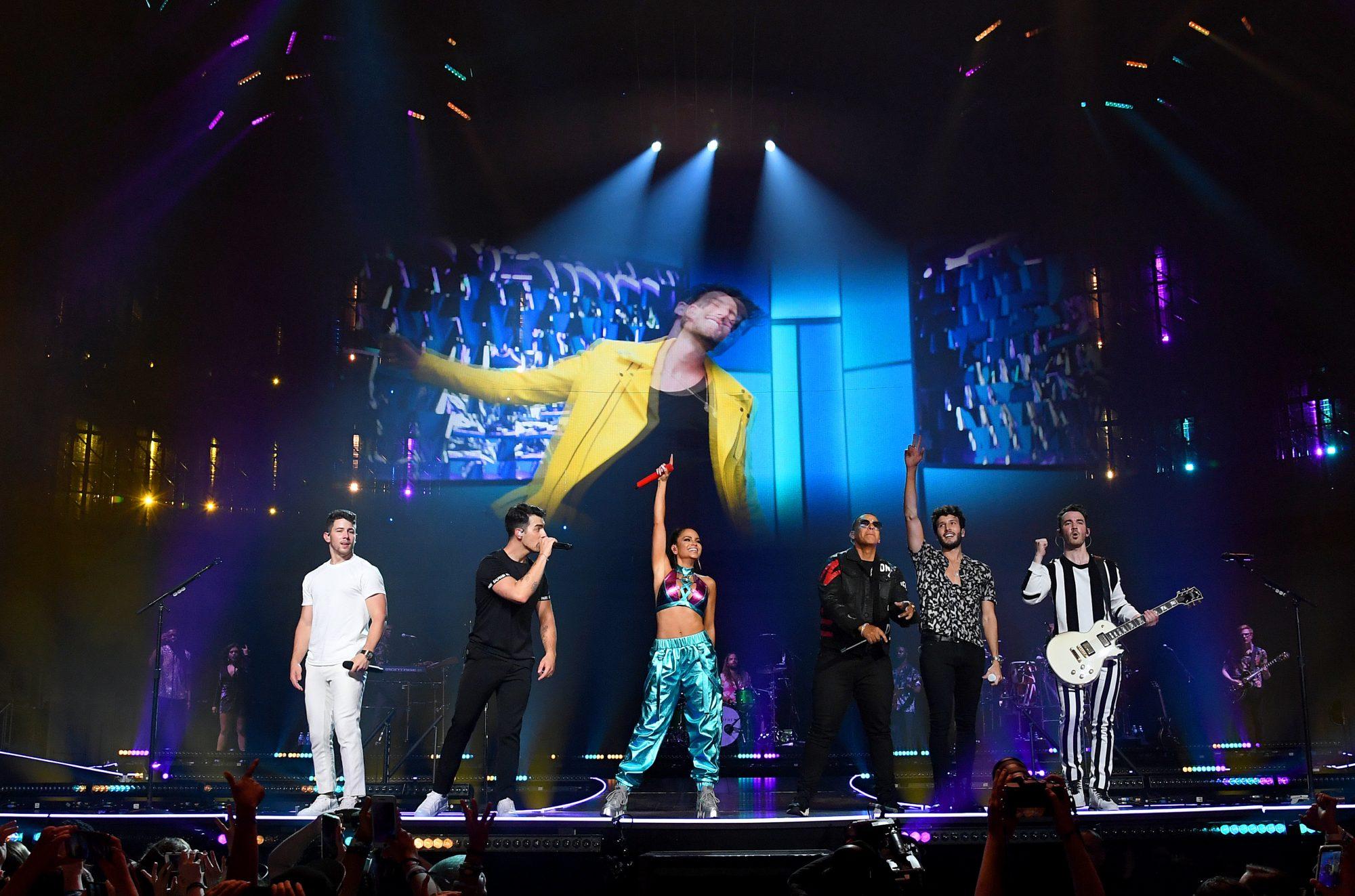Sebastian Yatra, Jonas Brothers, Daddy Yankee, Natti Natasha