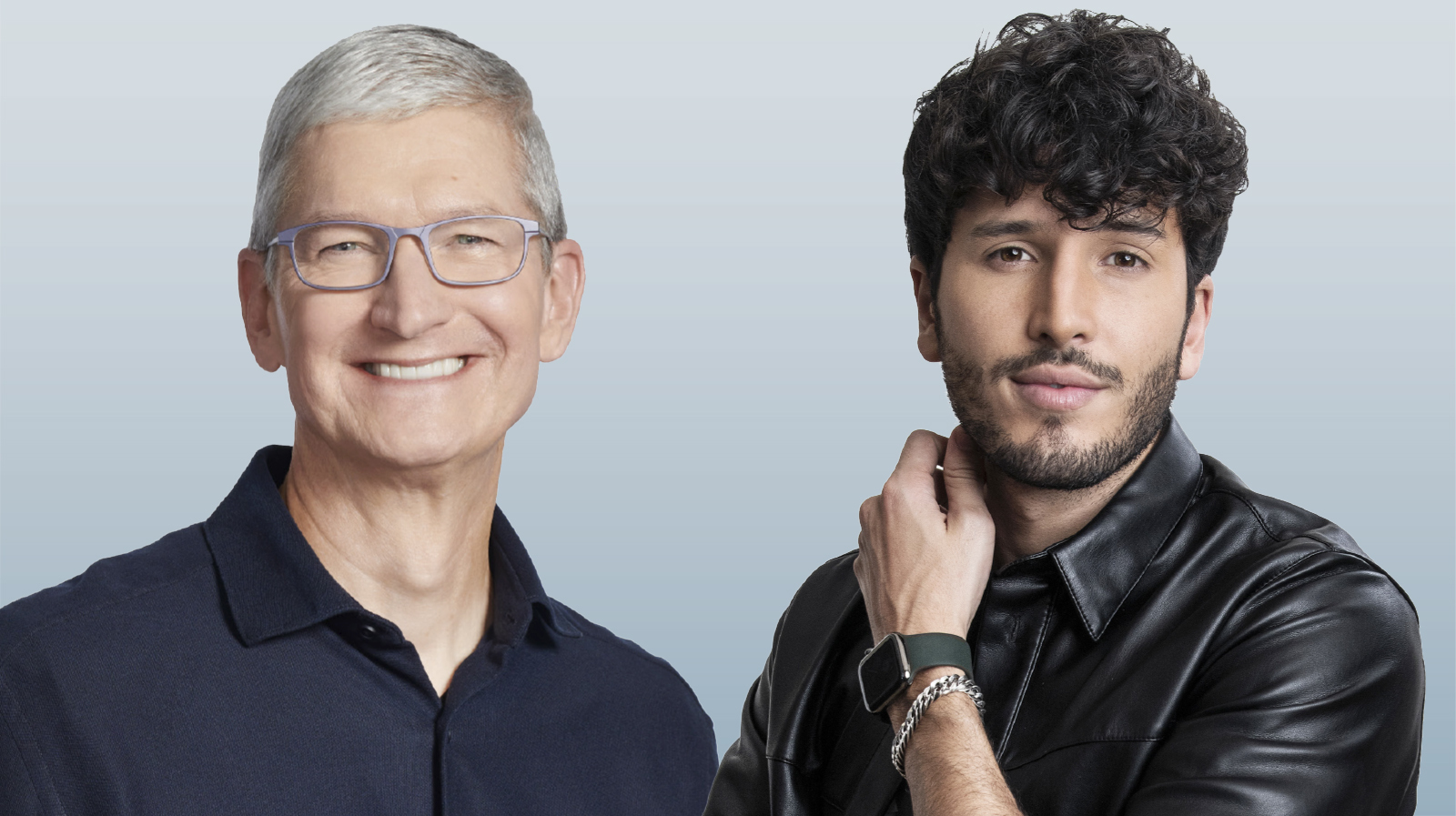 Tim Cook y Sebastian Yatra - (DO NOT REUSE)