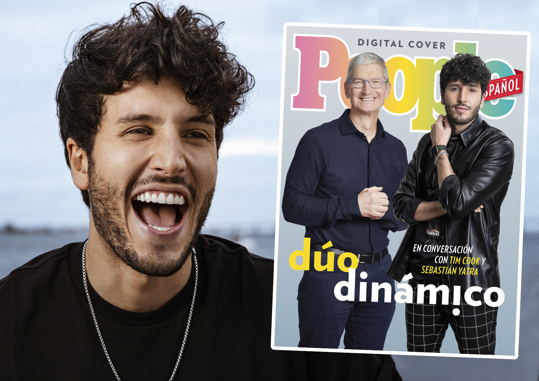 Sebastian Yatra y Tim Cook promo home page (DO NOT REUSE)