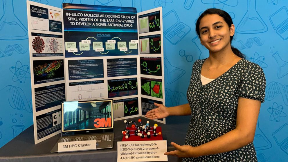 Anika Chebrolu 3M Young Scientist Challenge