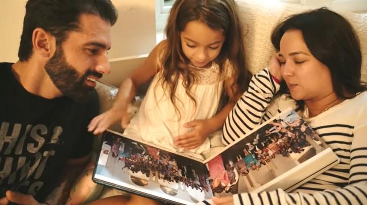 Adamari López y Toni Costa le cuentan a Alaïa cómo lucharon y celebraron su llegada al mundo