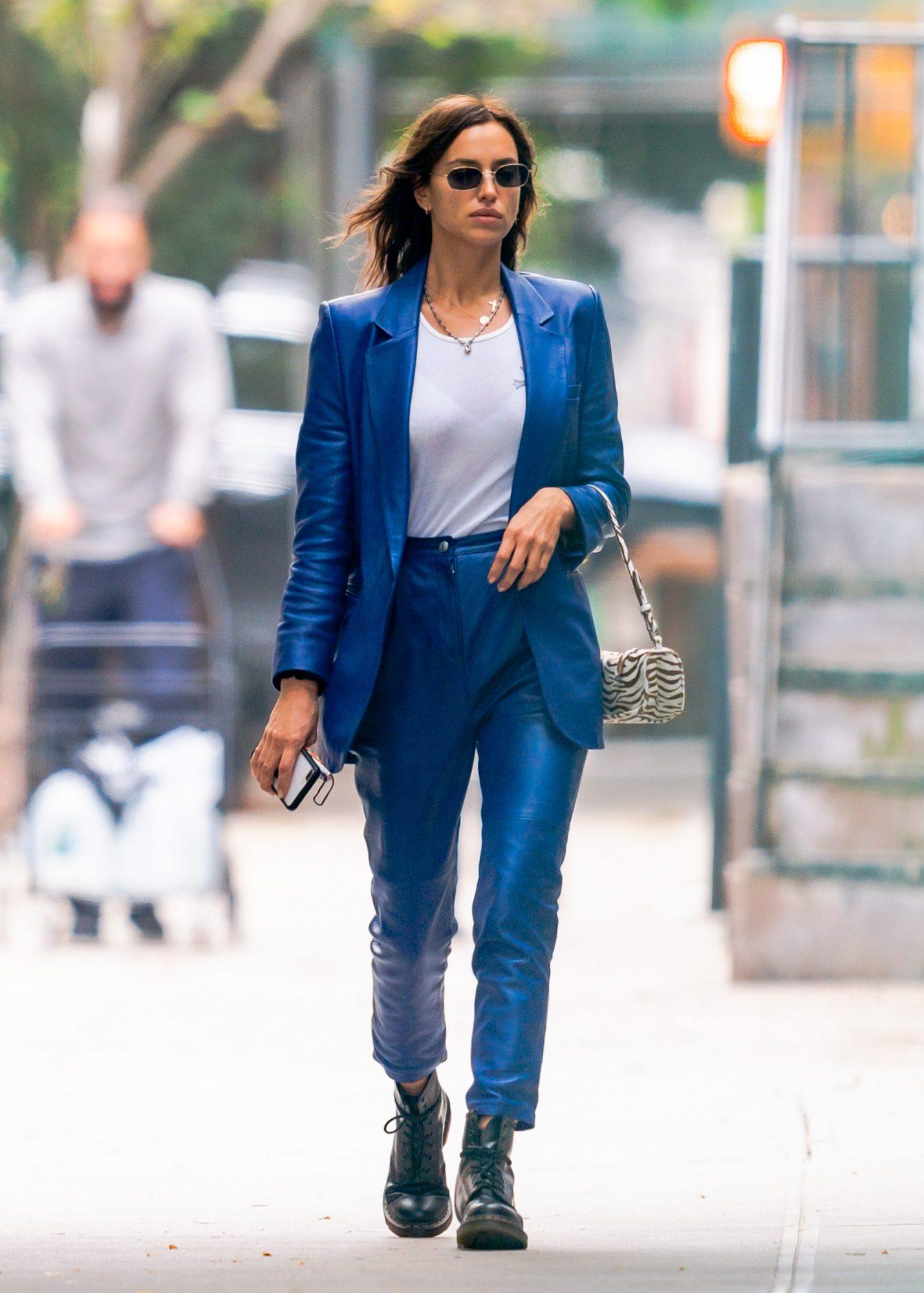 Irina Shayk, look, otono, streetstyle