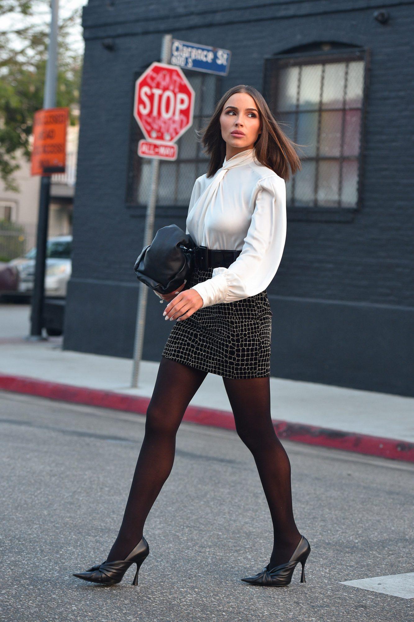 Olivia Culpo, look, streetstyle, otono