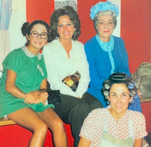 María Antonieta de las Nieves, Florinda Meza, Angelines Fernández, El chavo del 8