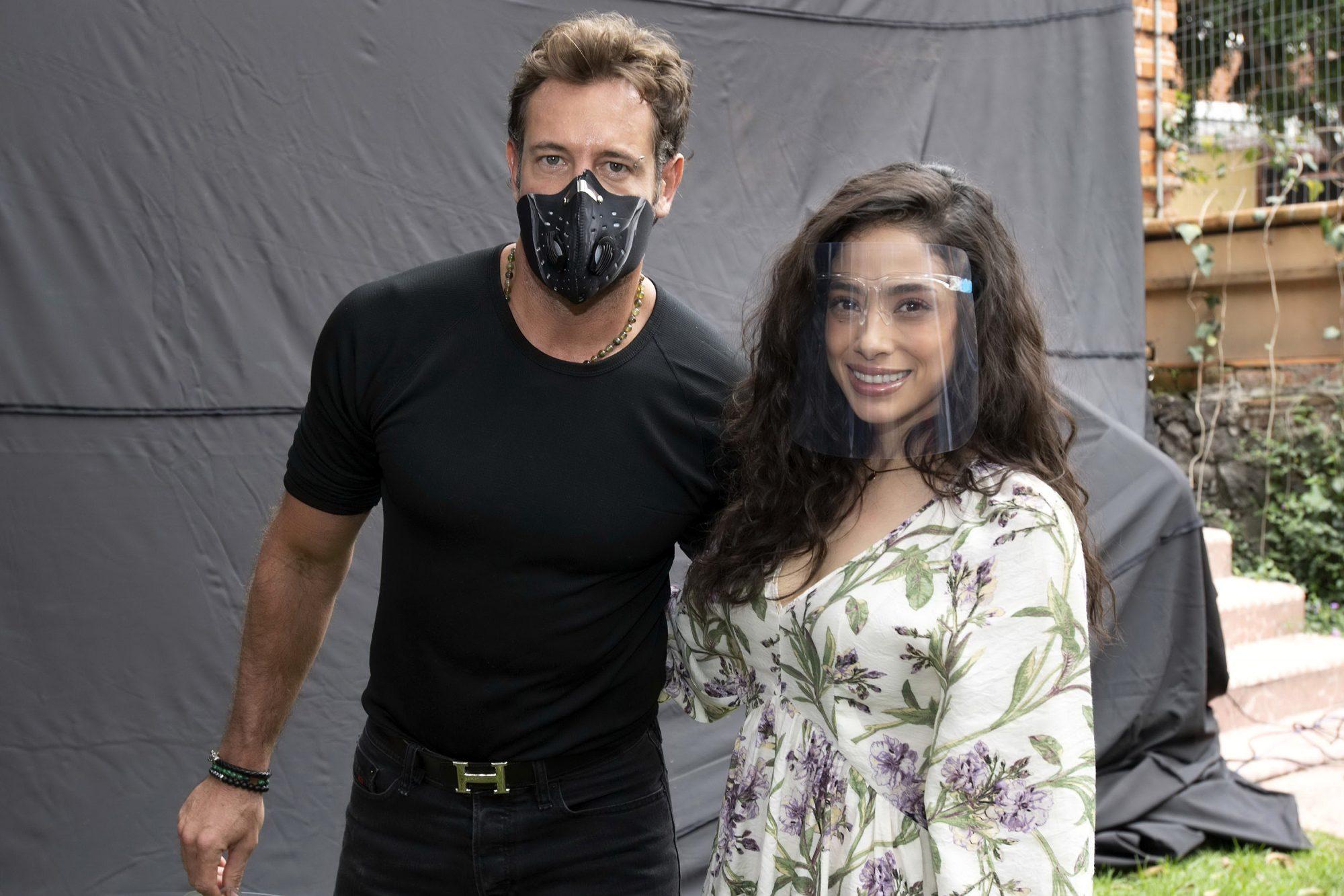Fátima Molina y Gabriel Soto