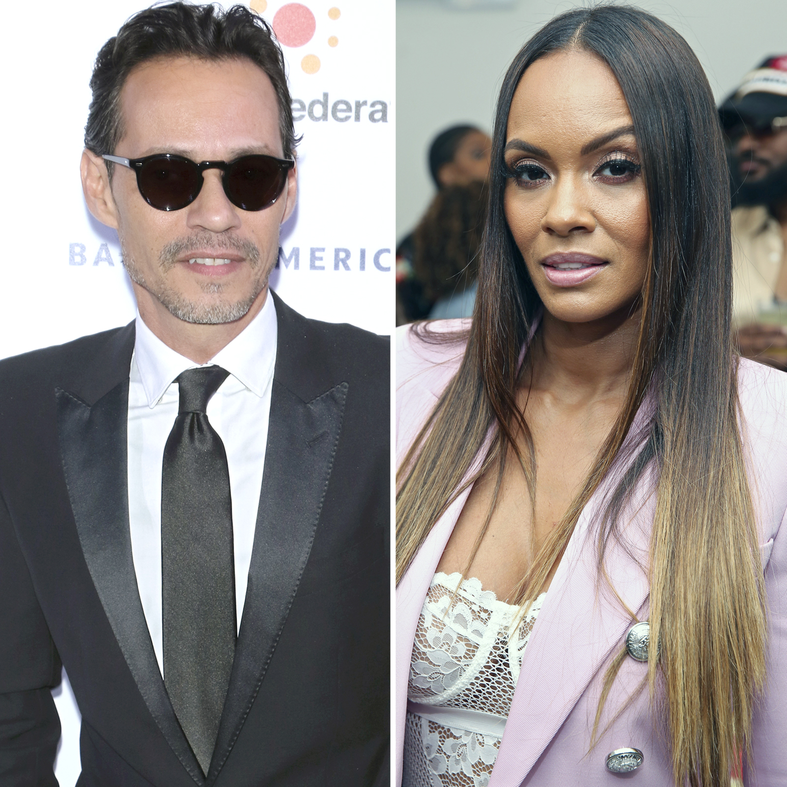 Marc Anthony y Evelyn Lozada