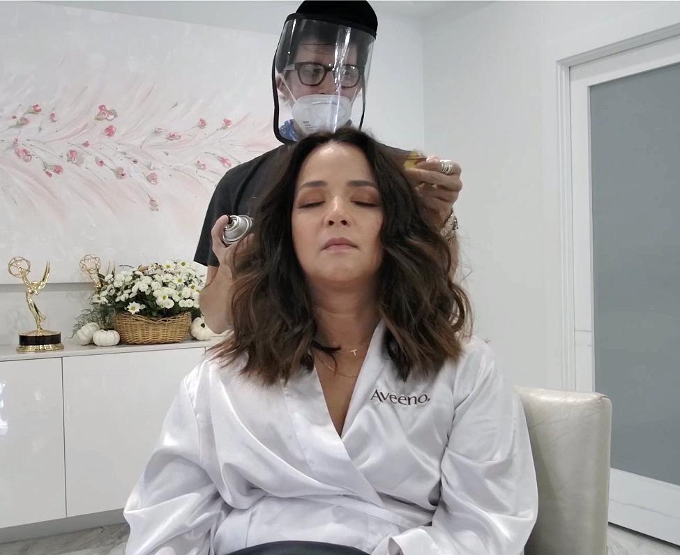 Adamari Lopez - Digital Cover - BTS - Hair