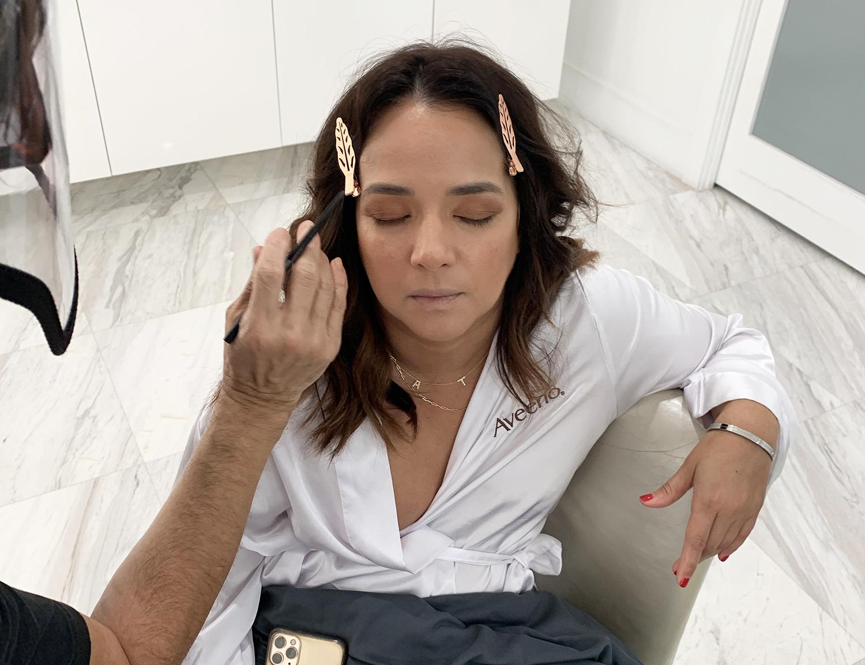 Adamari Lopez - Digital Cover - BTS - Makeup