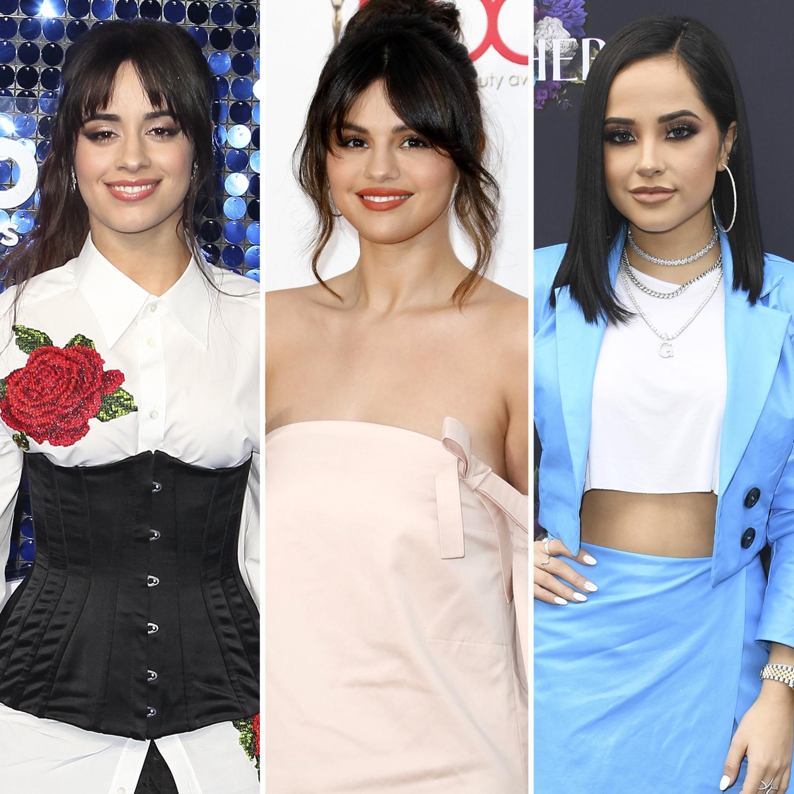 Camila Cabello, Selena Gomez y Becky G