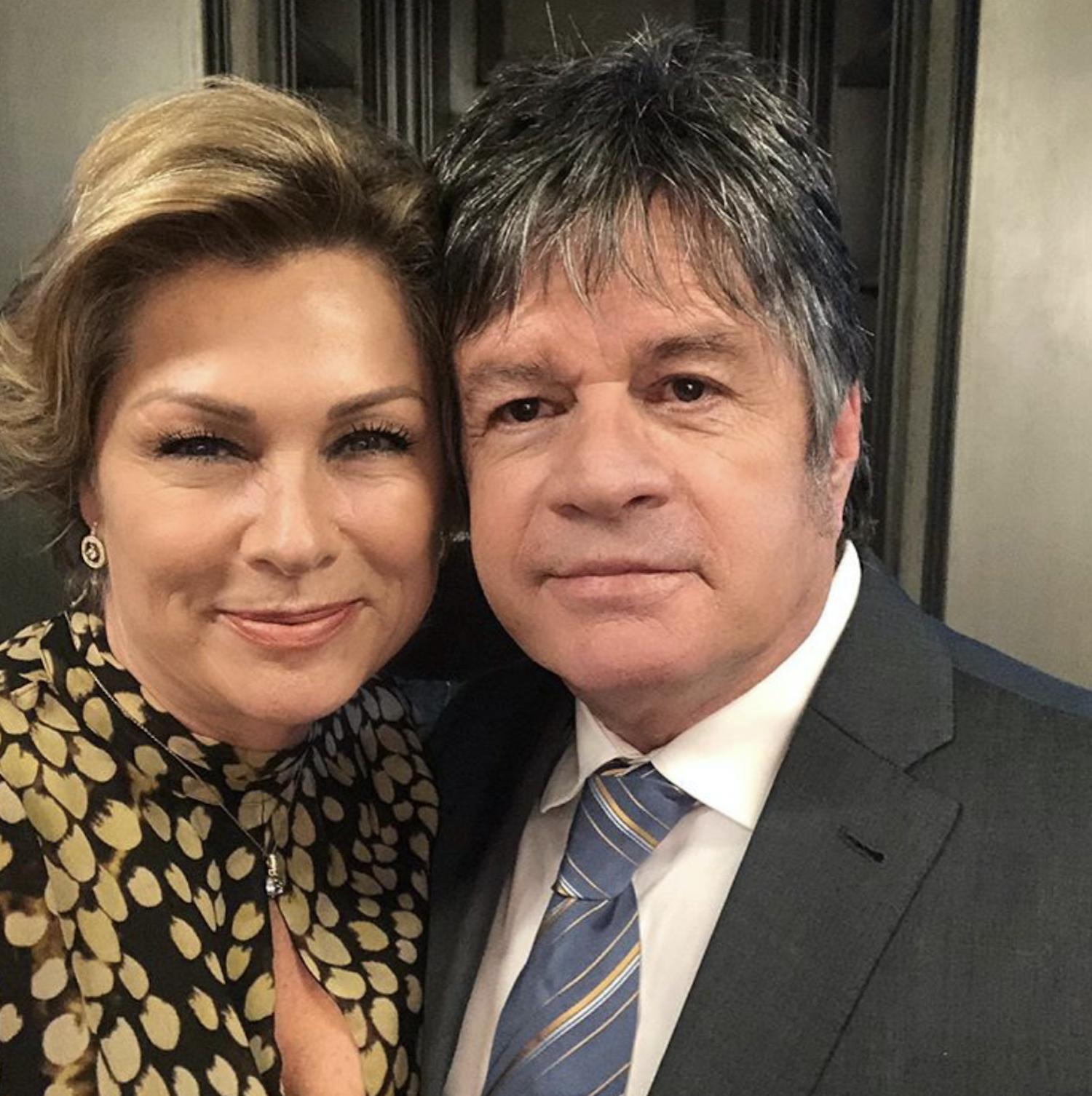 Leticia Calderón y Alejandro Camacho