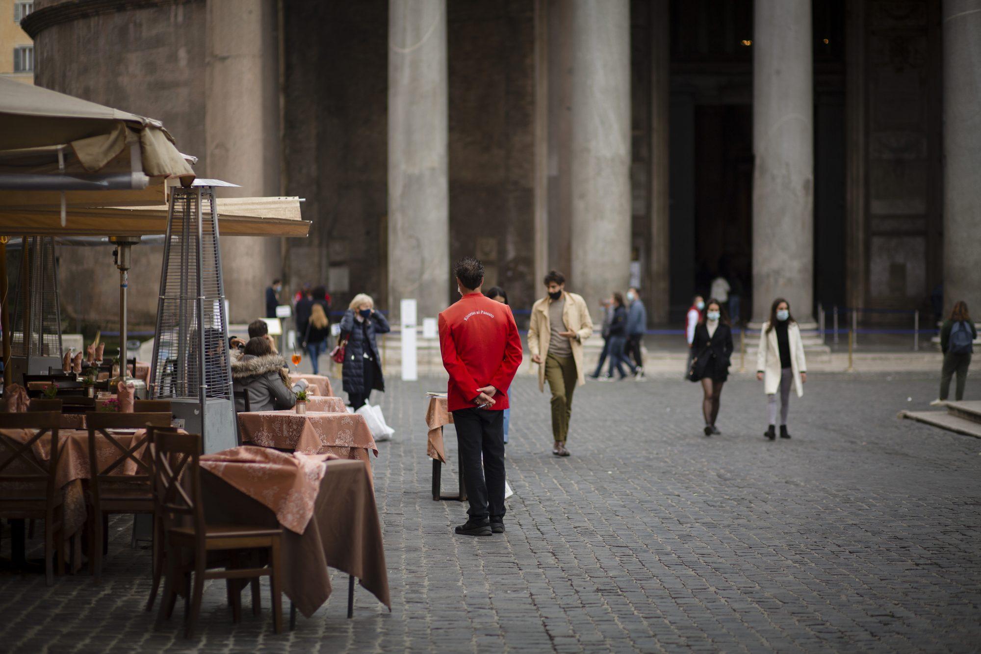 Italy - Rome Coronavirus Lockdown