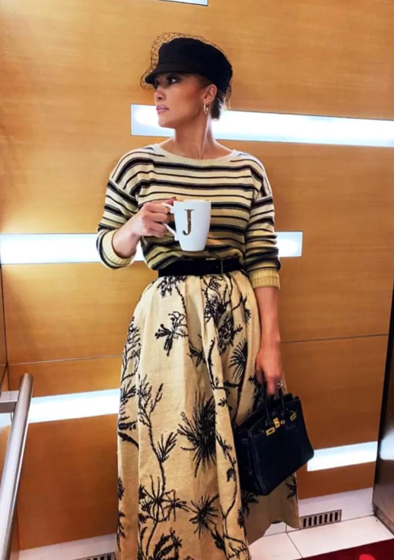 Jennifer Lopez, look, otoño, JLo, look de Dior